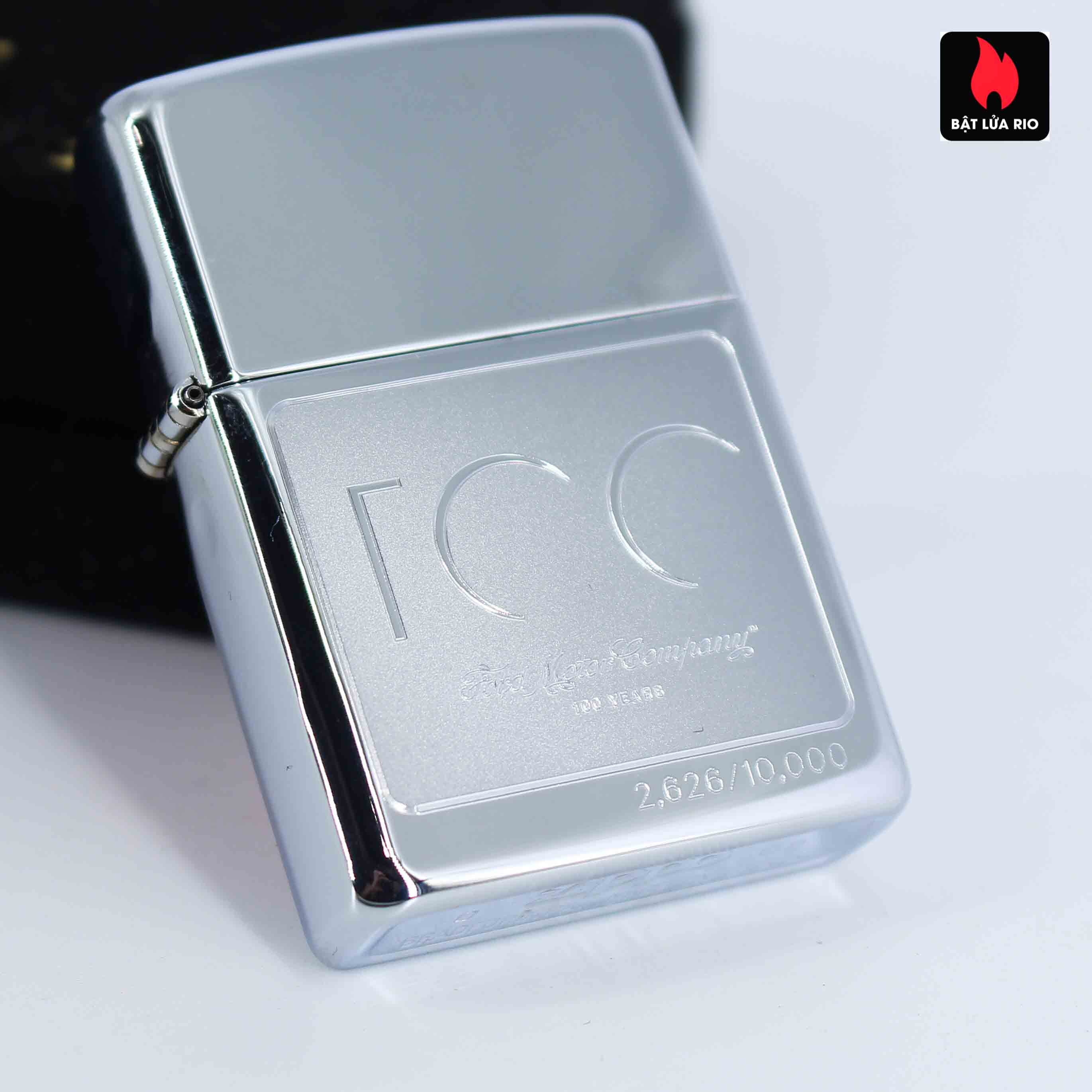 Zippo 2002 - 100 Years Ford Motor Company - Limited /10.000 4