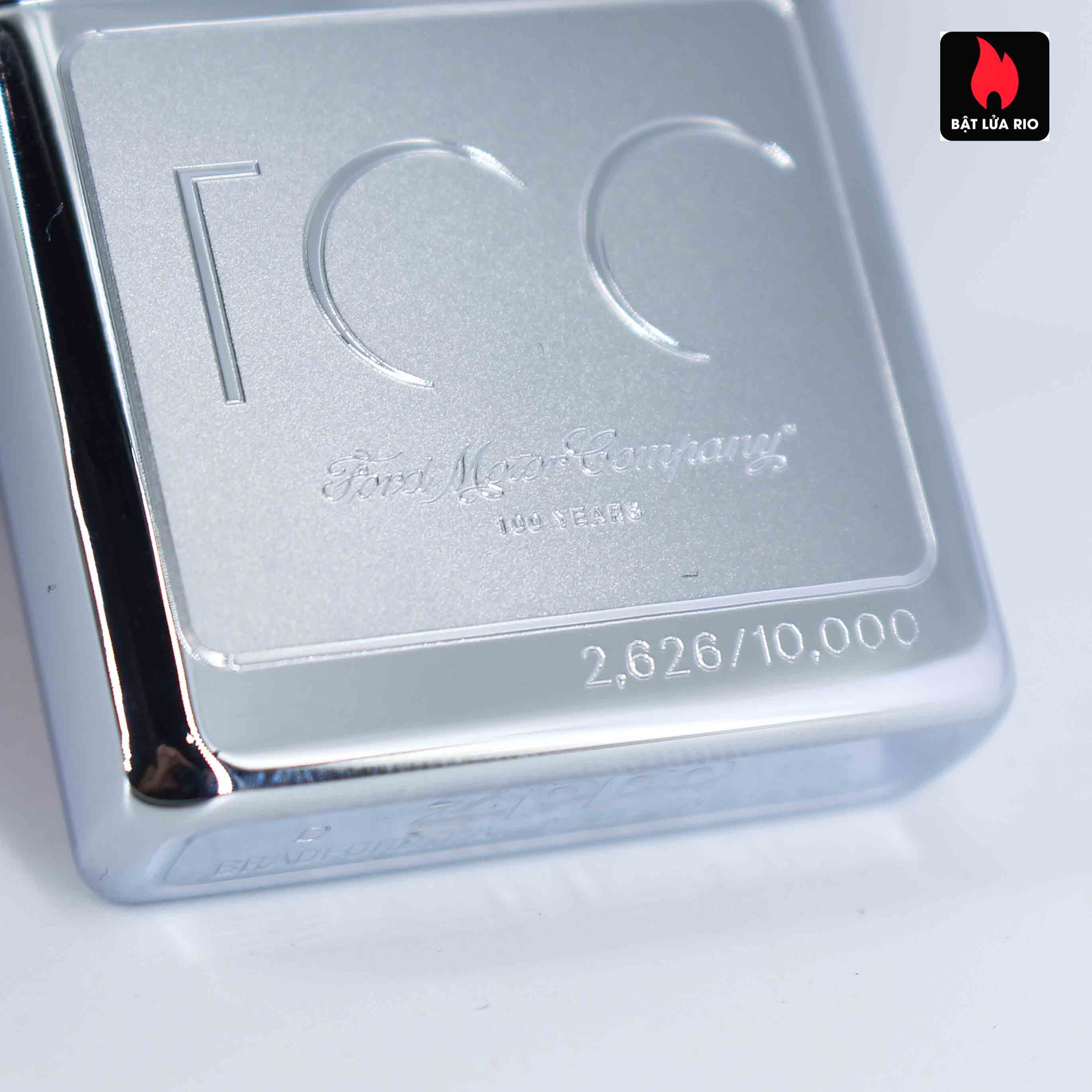 Zippo 2002 - 100 Years Ford Motor Company - Limited /10.000 5
