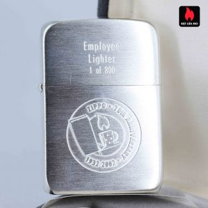 Zippo 2002 - 70th Anniversary - Employee Lighter 1 of 800