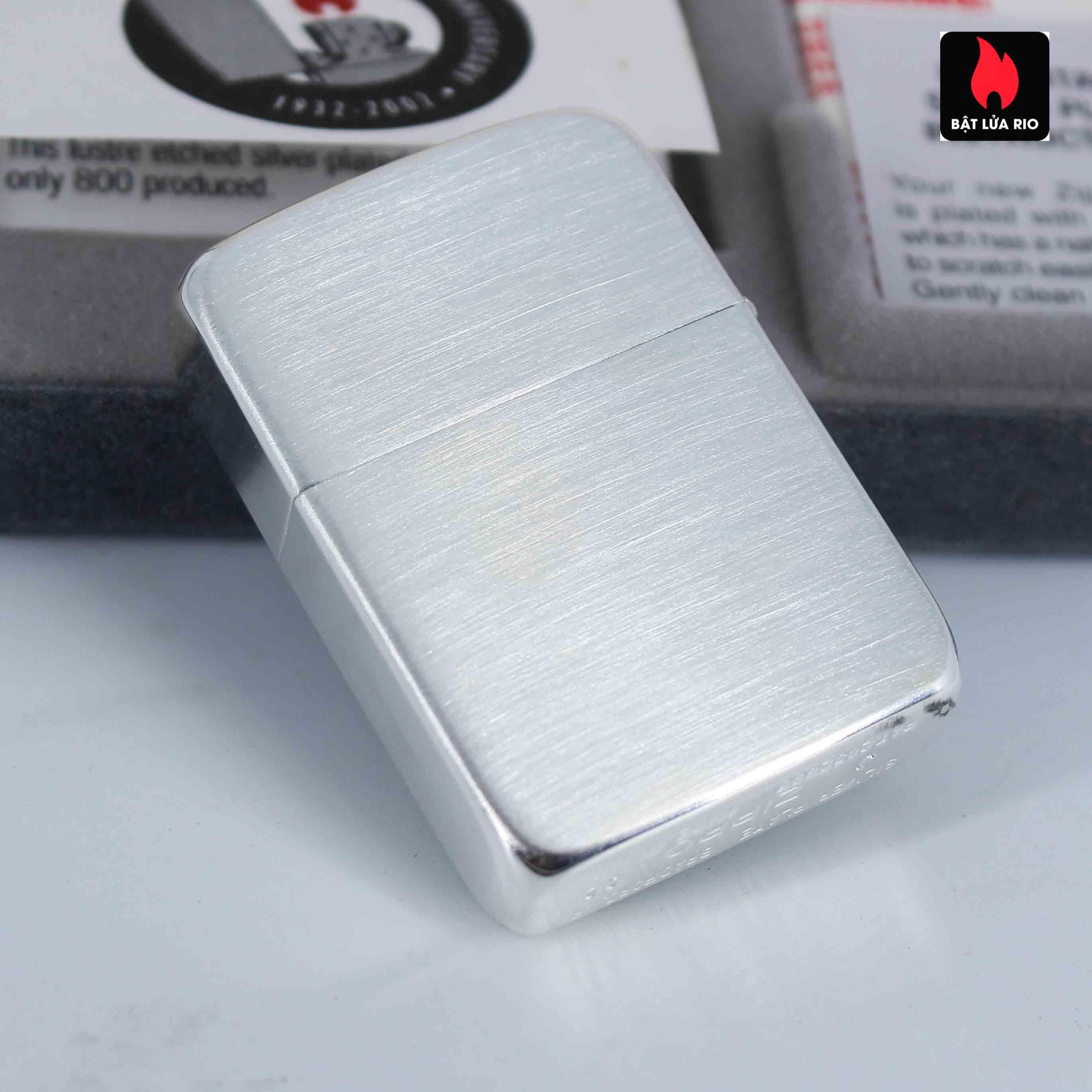 Zippo 2002 - 70th Anniversary - Employee Lighter 1 of 800 7