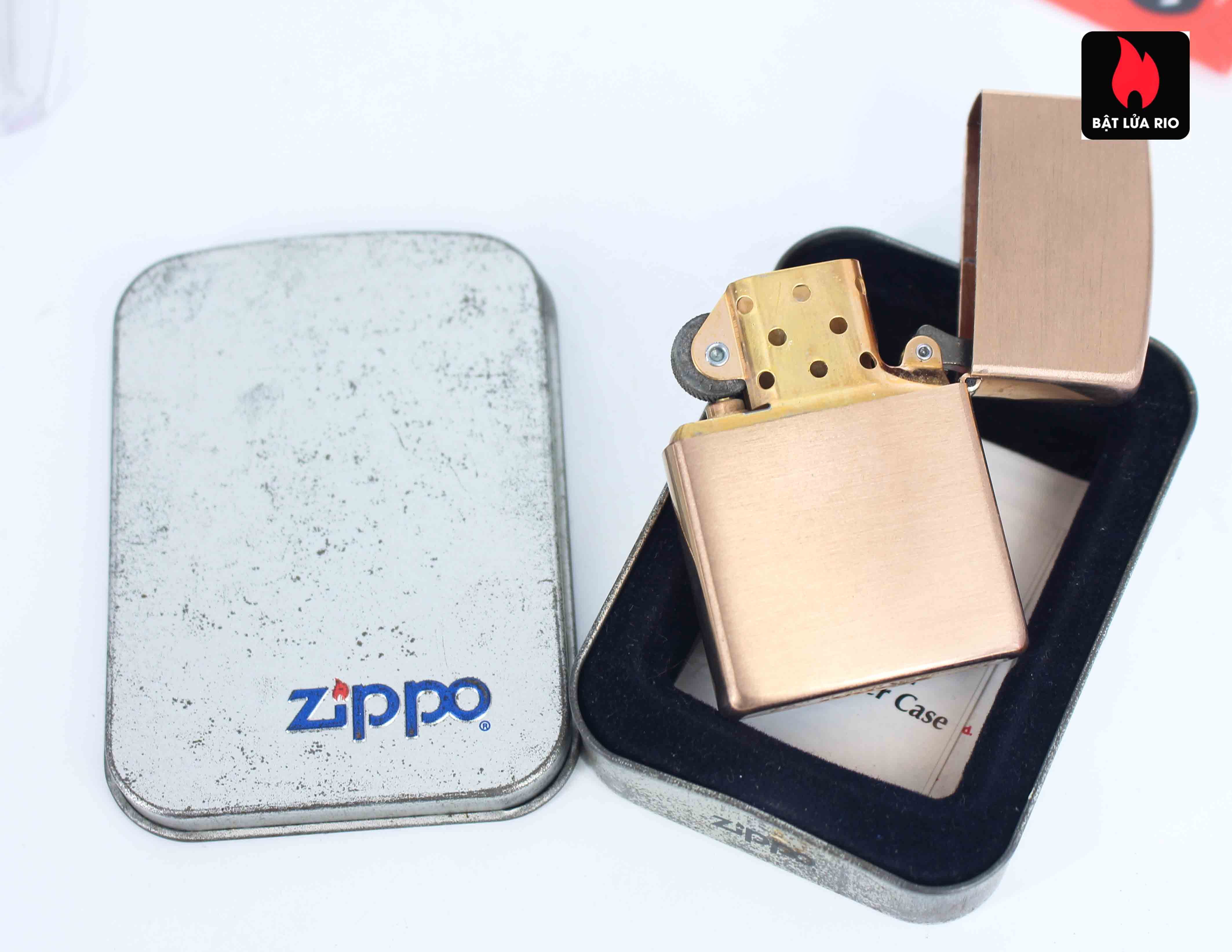 Zippo 2003 - Solid Copper - Phantasma Hand Finished 4