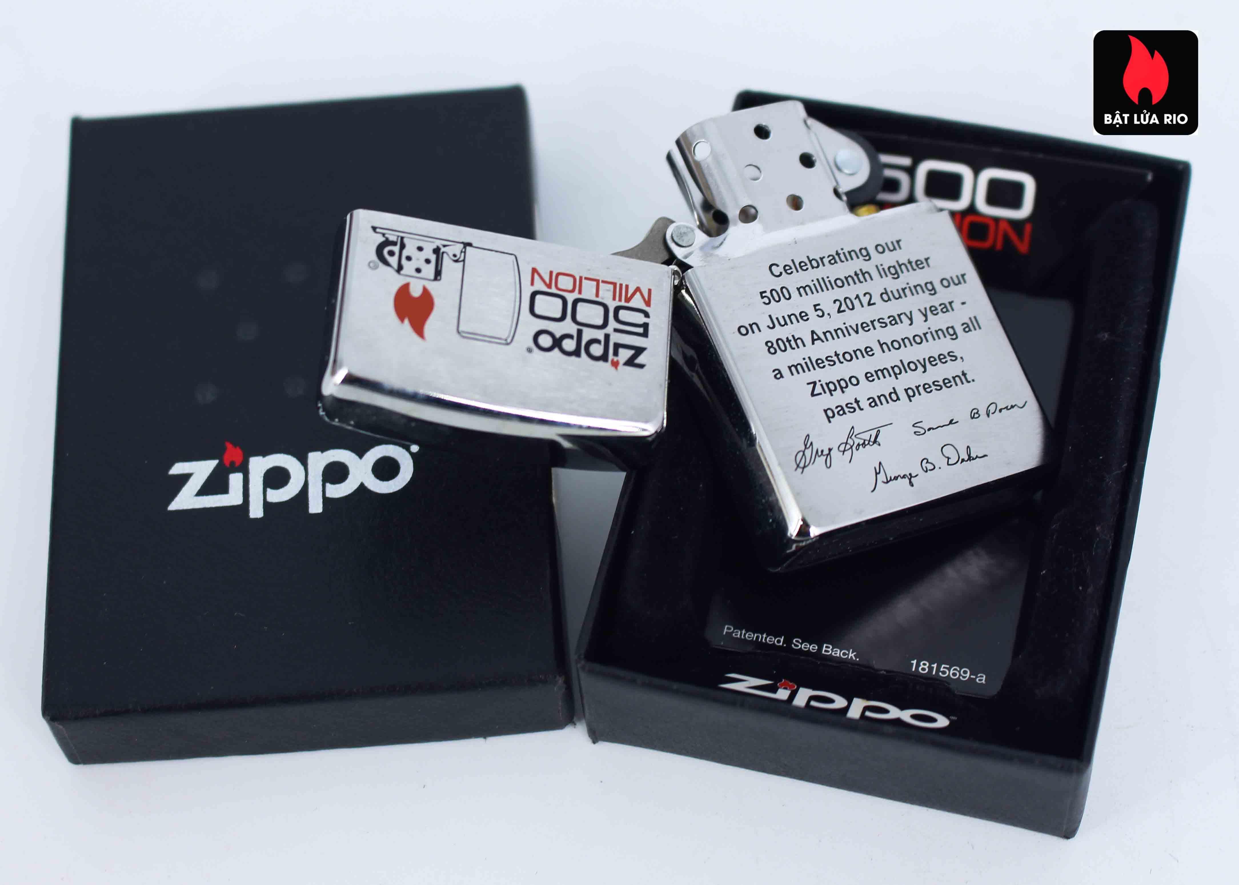 Zippo 2012 - 500 Million - Employee - Tina Dunkle 2