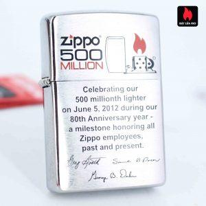 Zippo 2012 - 500 Million - Employee - Tina Dunkle