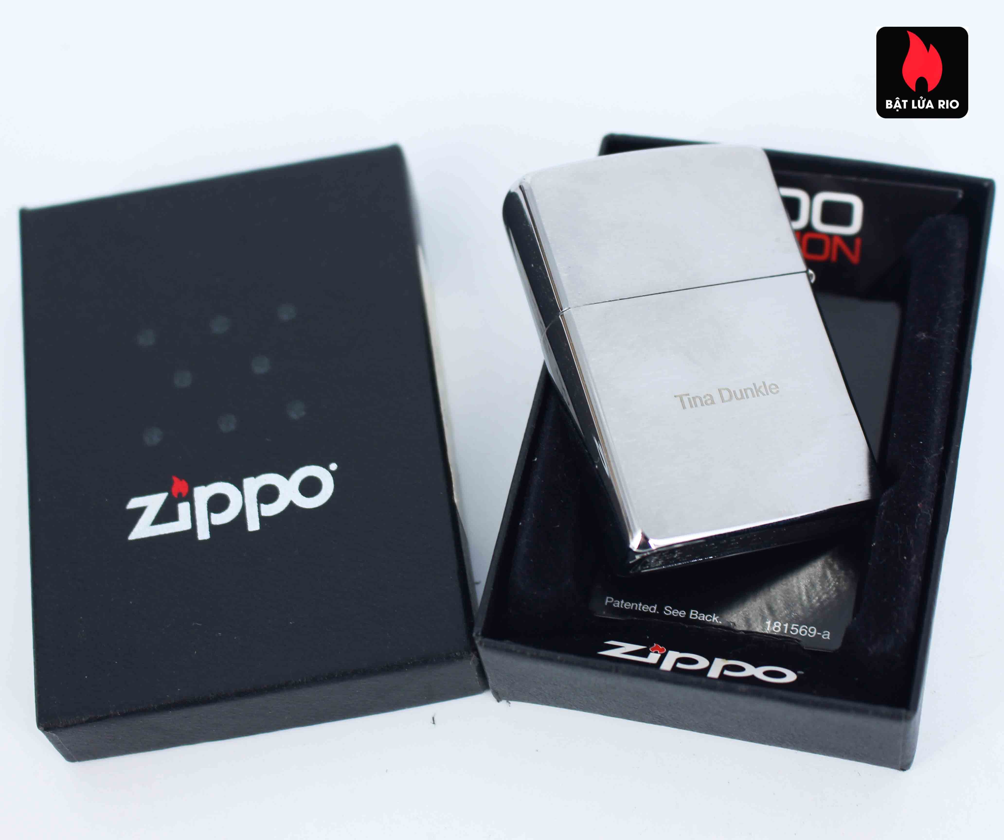 Zippo 2012 - 500 Million - Employee - Tina Dunkle 4