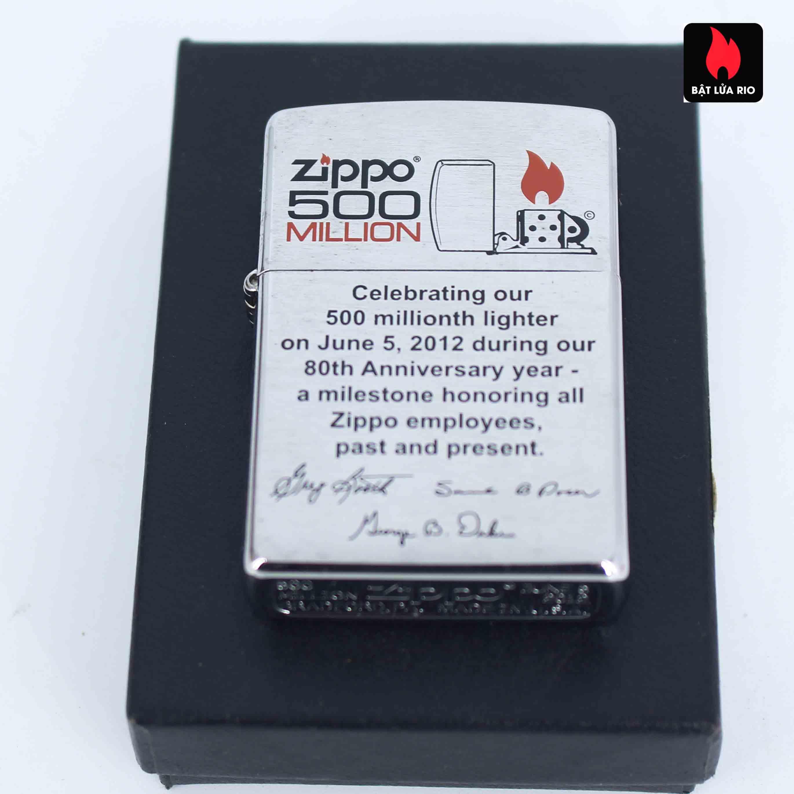 Zippo 2012 - 500 Million - Employee - Tina Dunkle 7
