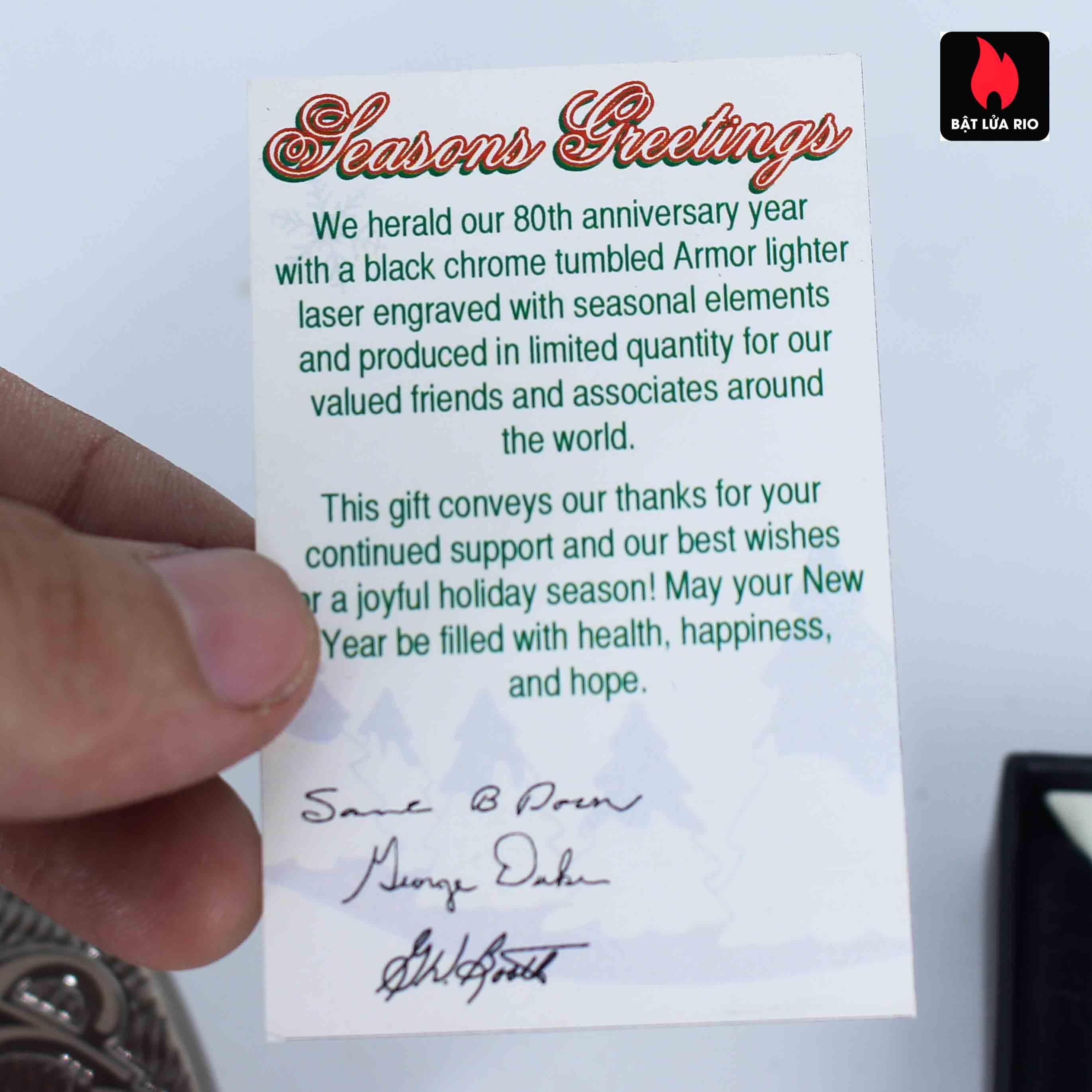 Zippo 2012 - 80th Anniversary - Employee 3