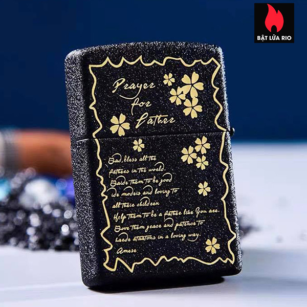 Zippo 236 Khắc Father's Day - Ngày Của Cha 10 - Zippo 236.FATHERDAY10 1