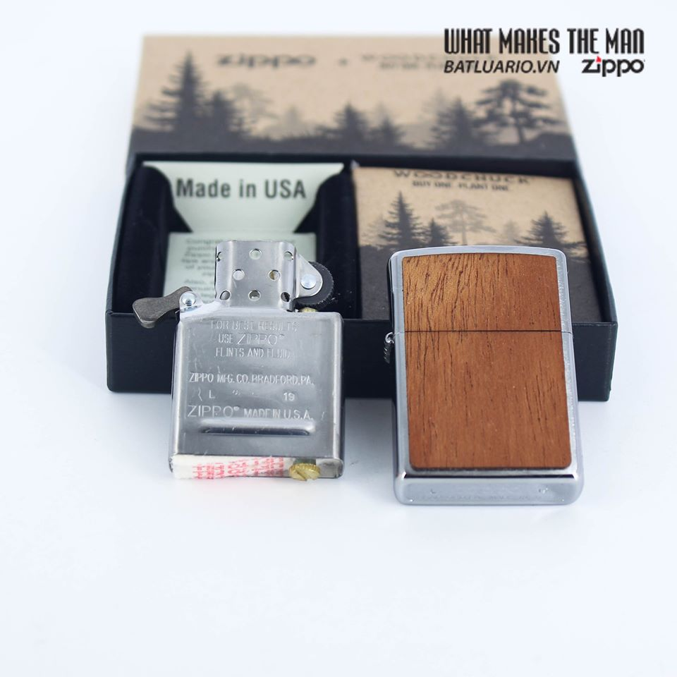 Zippo 49038 - Zippo WOODCHUCK USA Mahogany 6