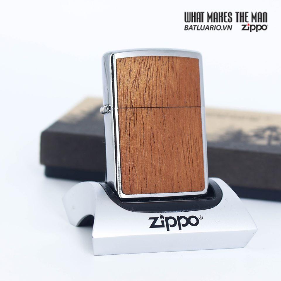 Zippo 49038 - Zippo WOODCHUCK USA Mahogany 7