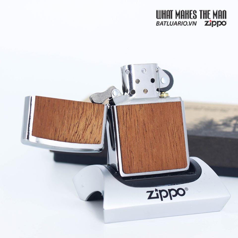 Zippo 49038 - Zippo WOODCHUCK USA Mahogany 8