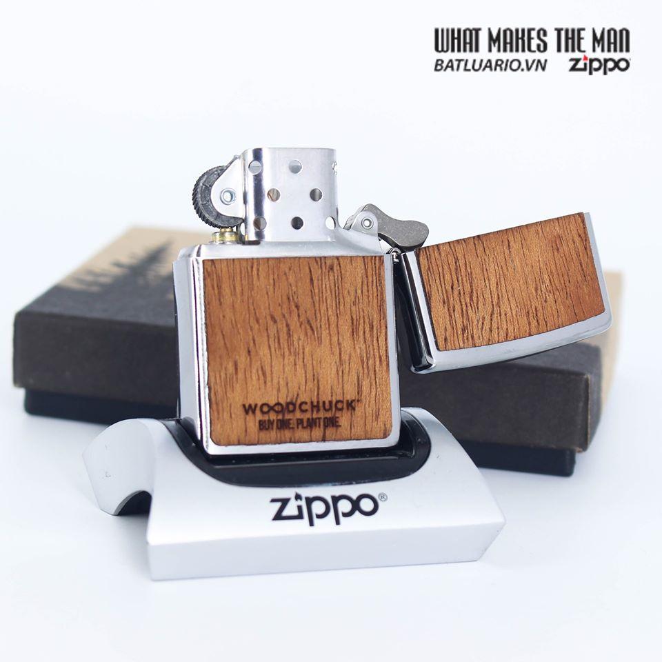Zippo 49038 - Zippo WOODCHUCK USA Mahogany 9