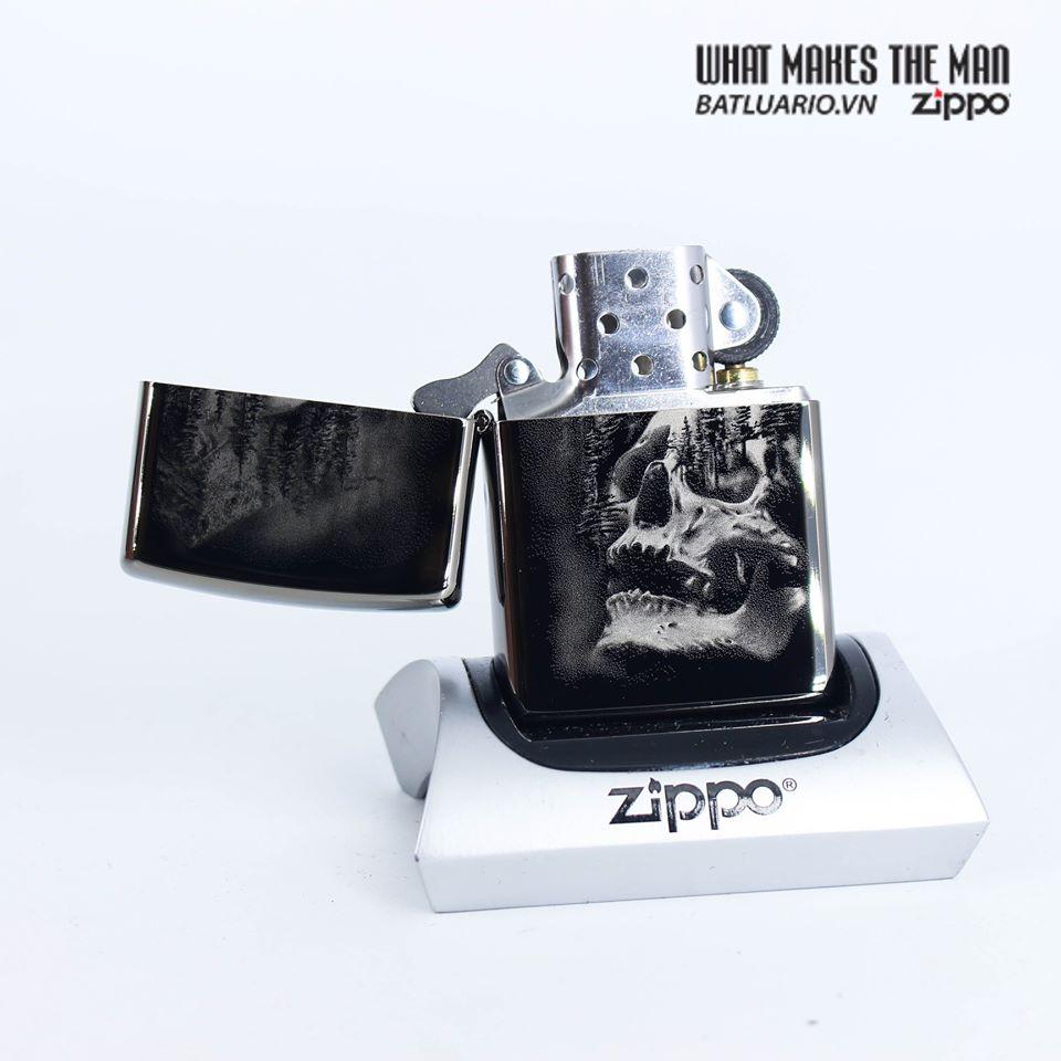 Zippo 49141 - Zippo Skull Mountain Black Ice 2