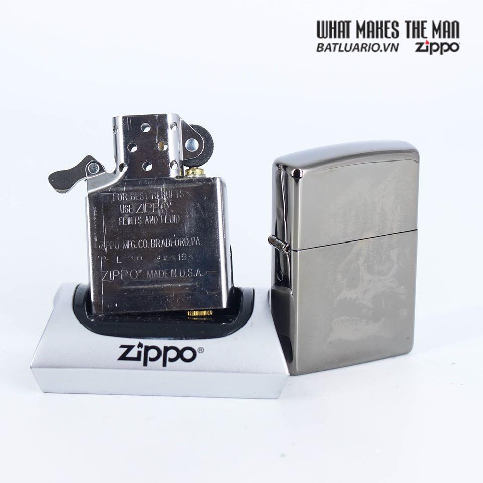 Zippo 49141 - Zippo Skull Mountain Black Ice 7