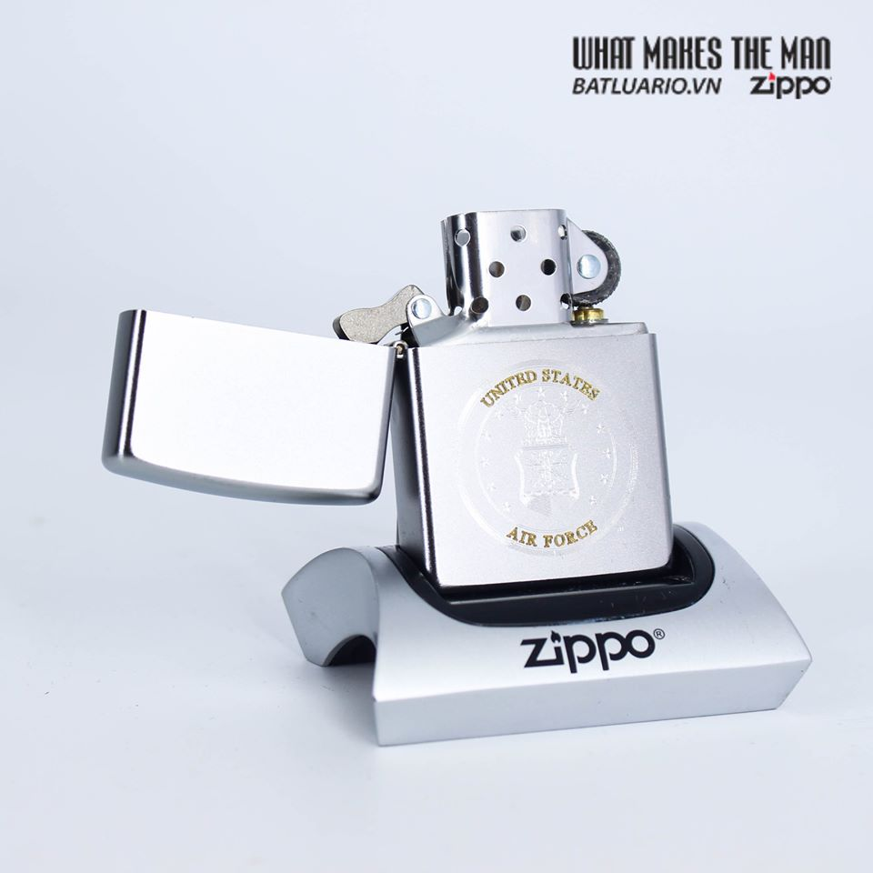 Zippo 49147 - Zippo U.S. Air Force™ Satin Chrome 3