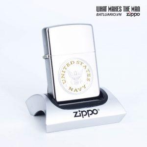 Zippo 49148 - Zippo US Navy® Satin Chrome 1