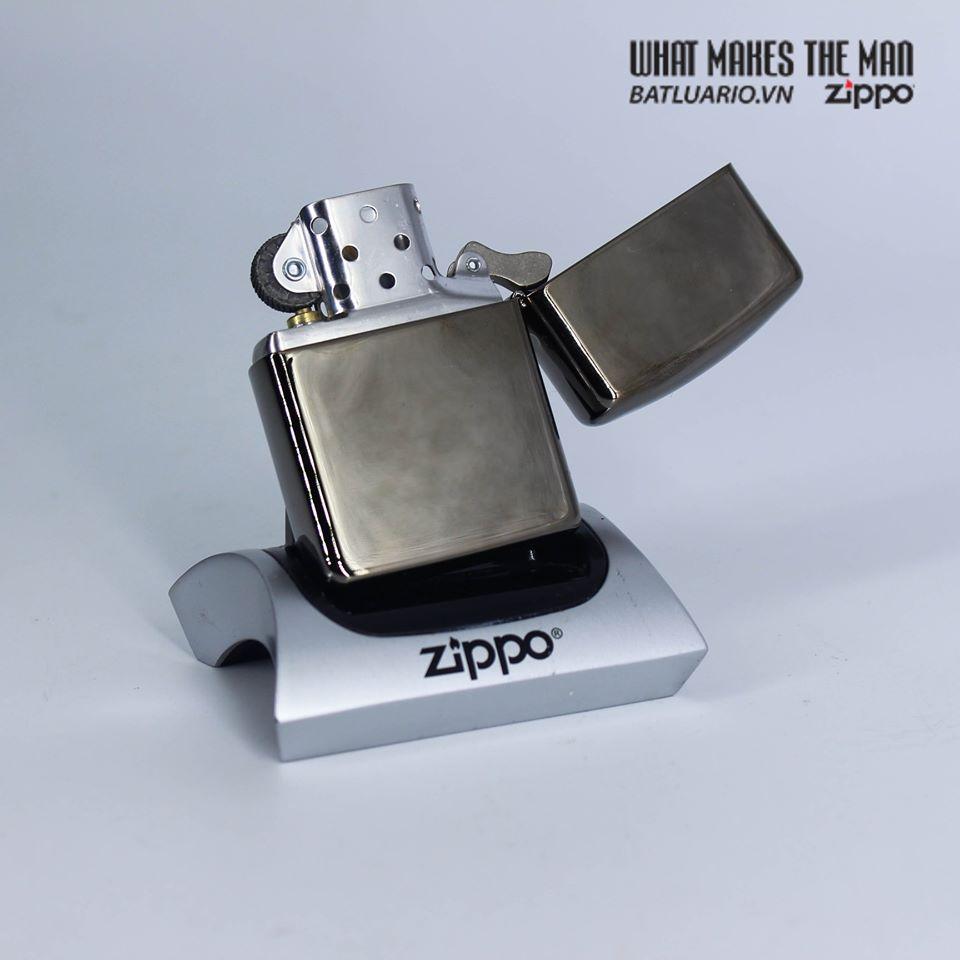 Zippo 49173 - Zippo Armor® Geometric Weave Design Black Ice 3