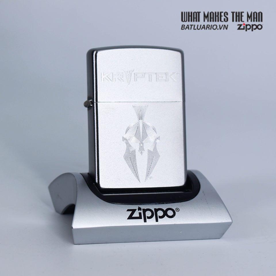 Zippo 49177 - Zippo Kryptek Satin Chrome 1