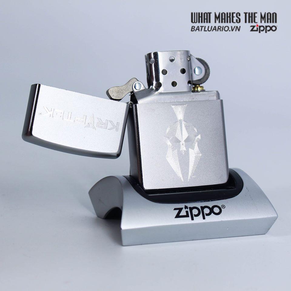 Zippo 49177 - Zippo Kryptek Satin Chrome 2