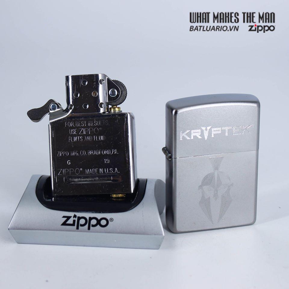 Zippo 49177 - Zippo Kryptek Satin Chrome 7