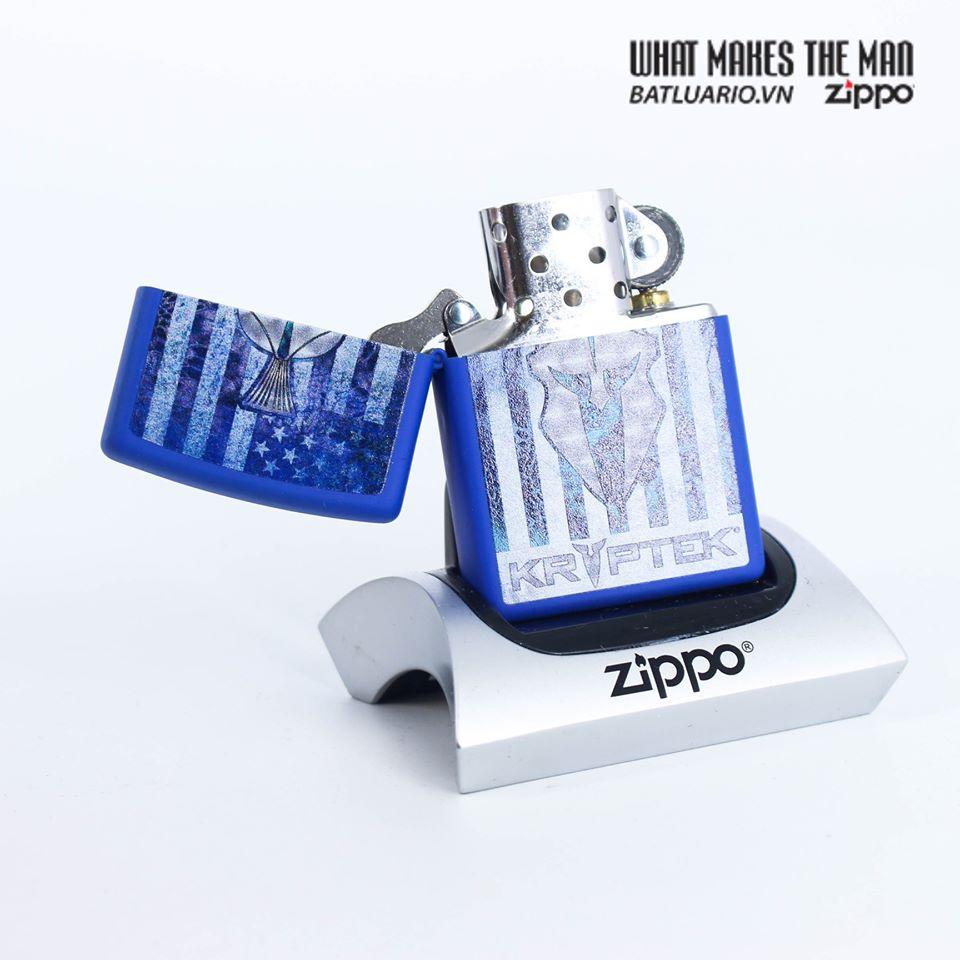 Zippo 49179 - Zippo Kryptek Royal Blue Matte 2