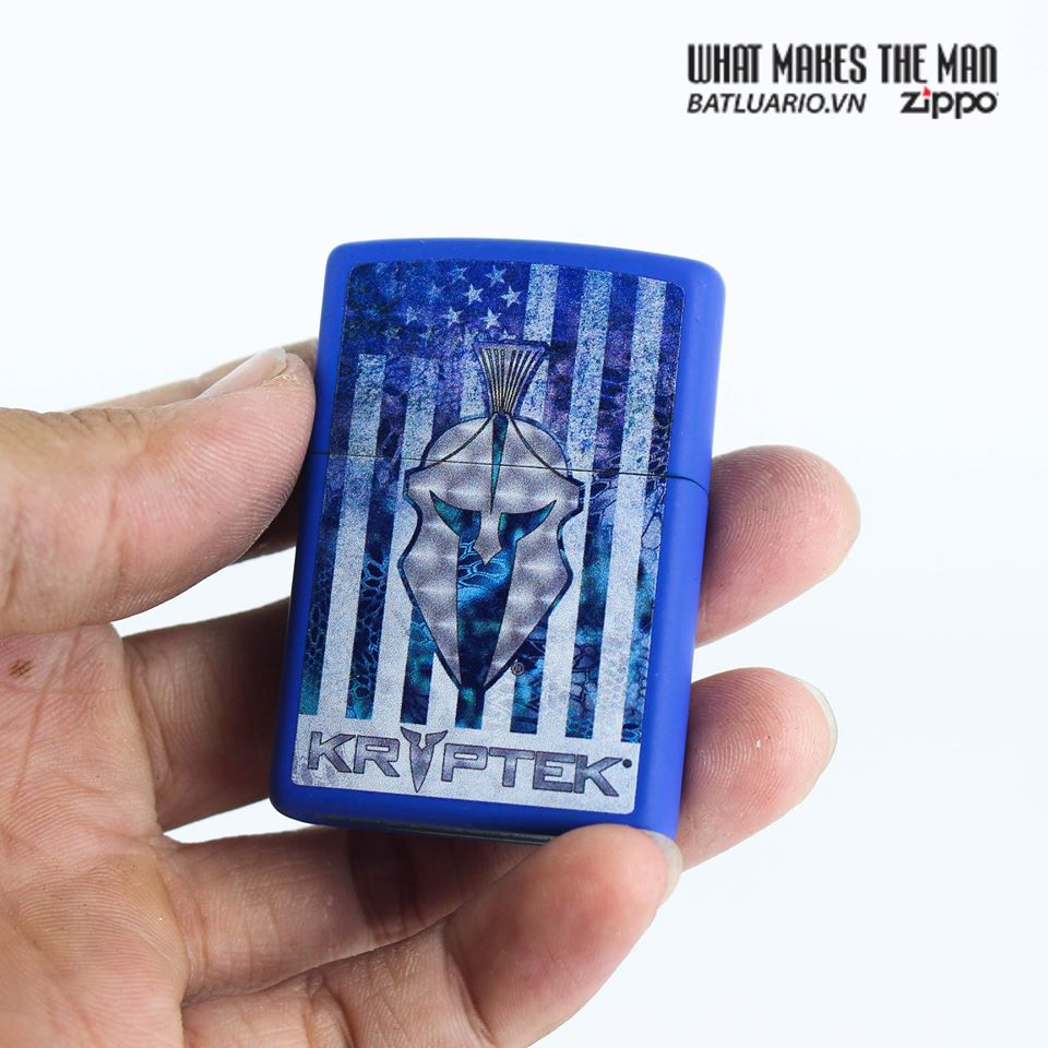Zippo 49179 - Zippo Kryptek Royal Blue Matte 6