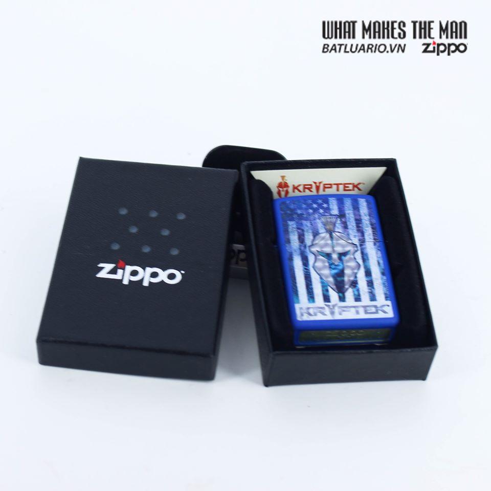 Zippo 49179 - Zippo Kryptek Royal Blue Matte 9