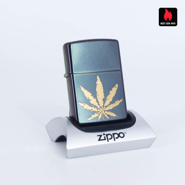 Zippo 49185 - Zippo Iridescent Marijuana Leaf 3