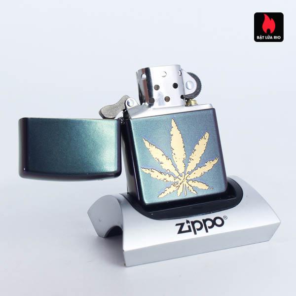 Zippo 49185 - Zippo Iridescent Marijuana Leaf 6