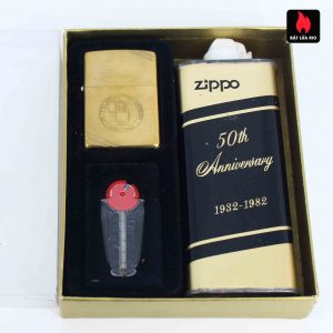 Zippo Chu Niên 1932 - 1982 - 50th Anniversary - Employee