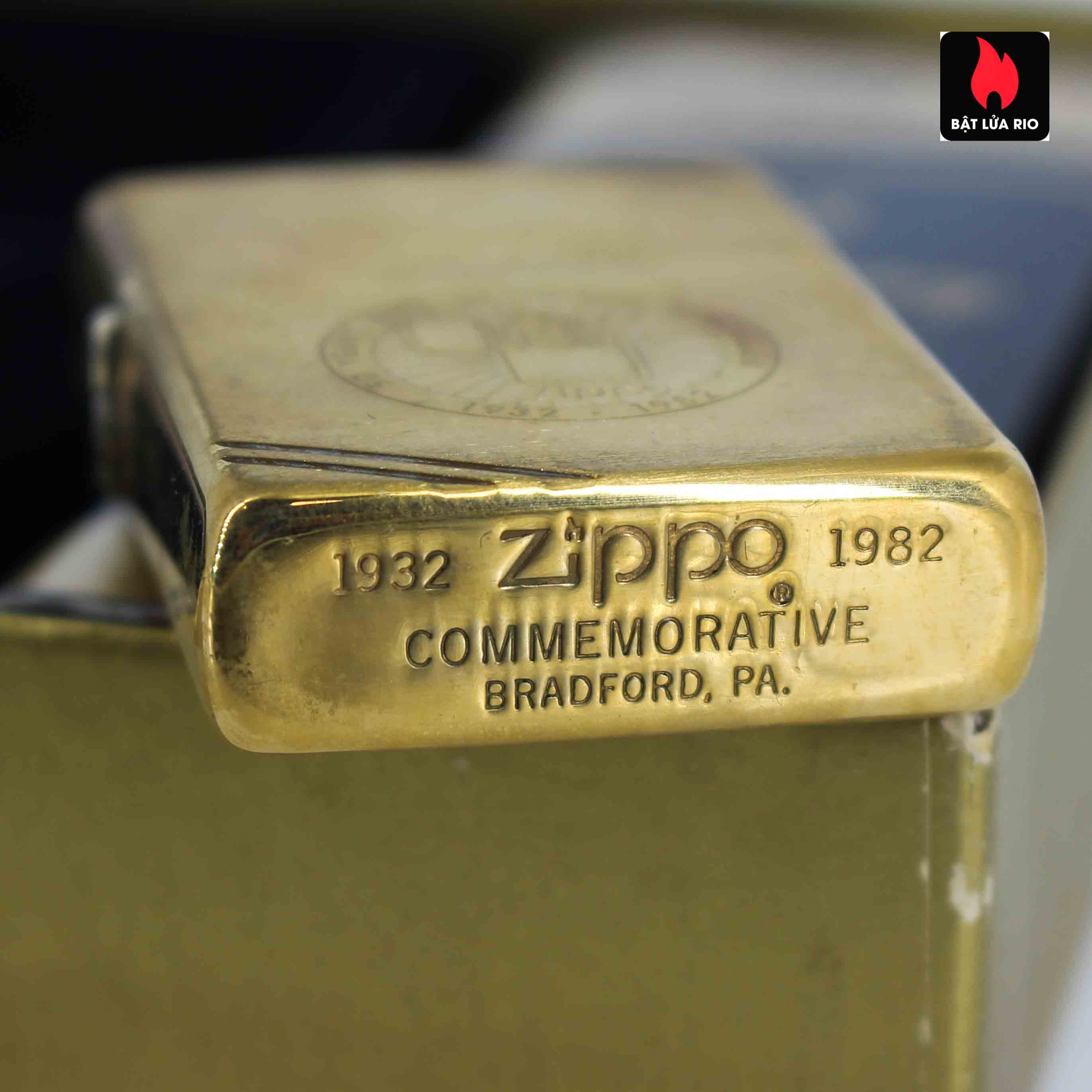 Zippo Chu Niên 1932 - 1982 - 50th Anniversary - Employee 4