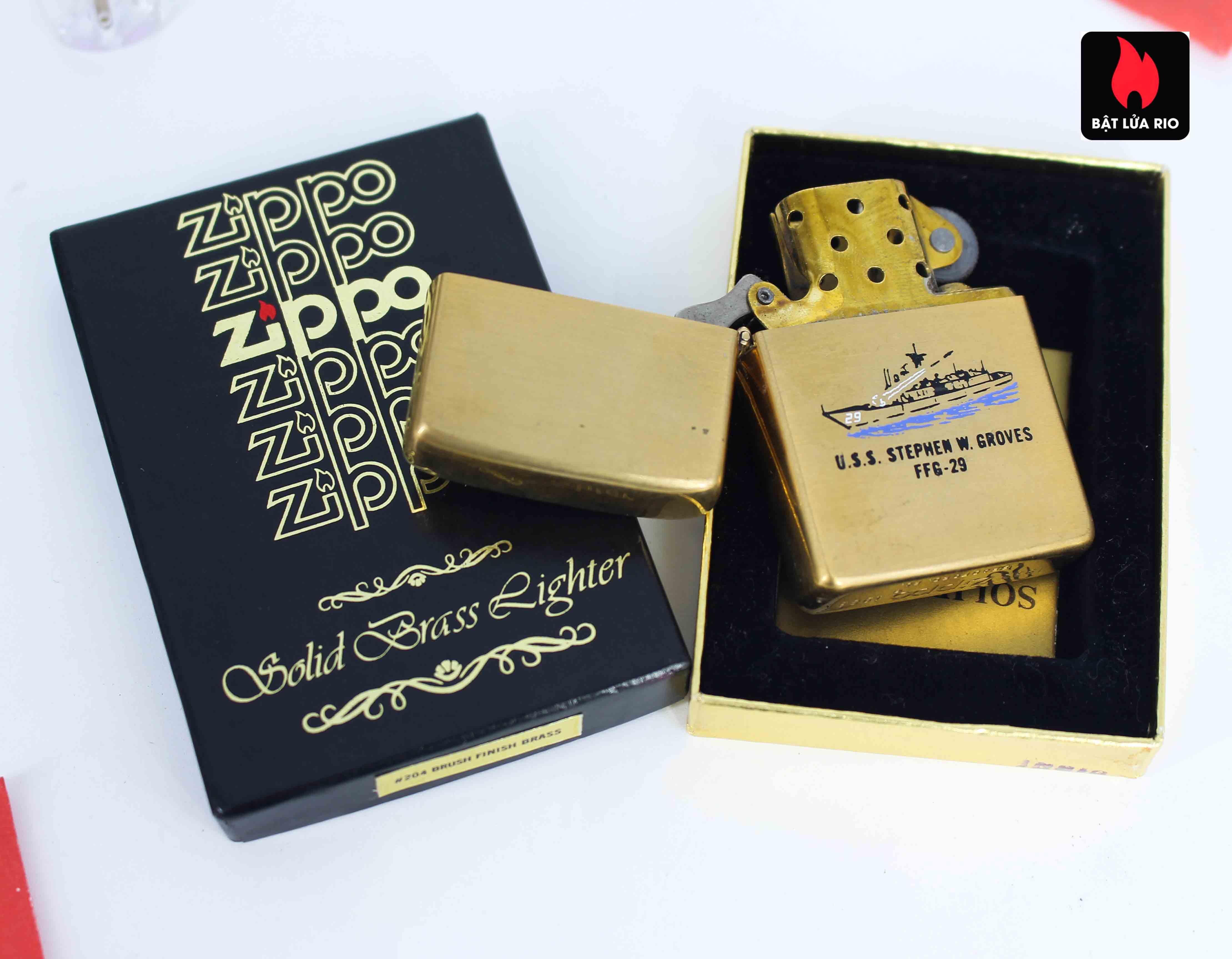 Zippo Chu Niên 1932 - 1983 - Uss Stephen W.Groves FFG 29 2