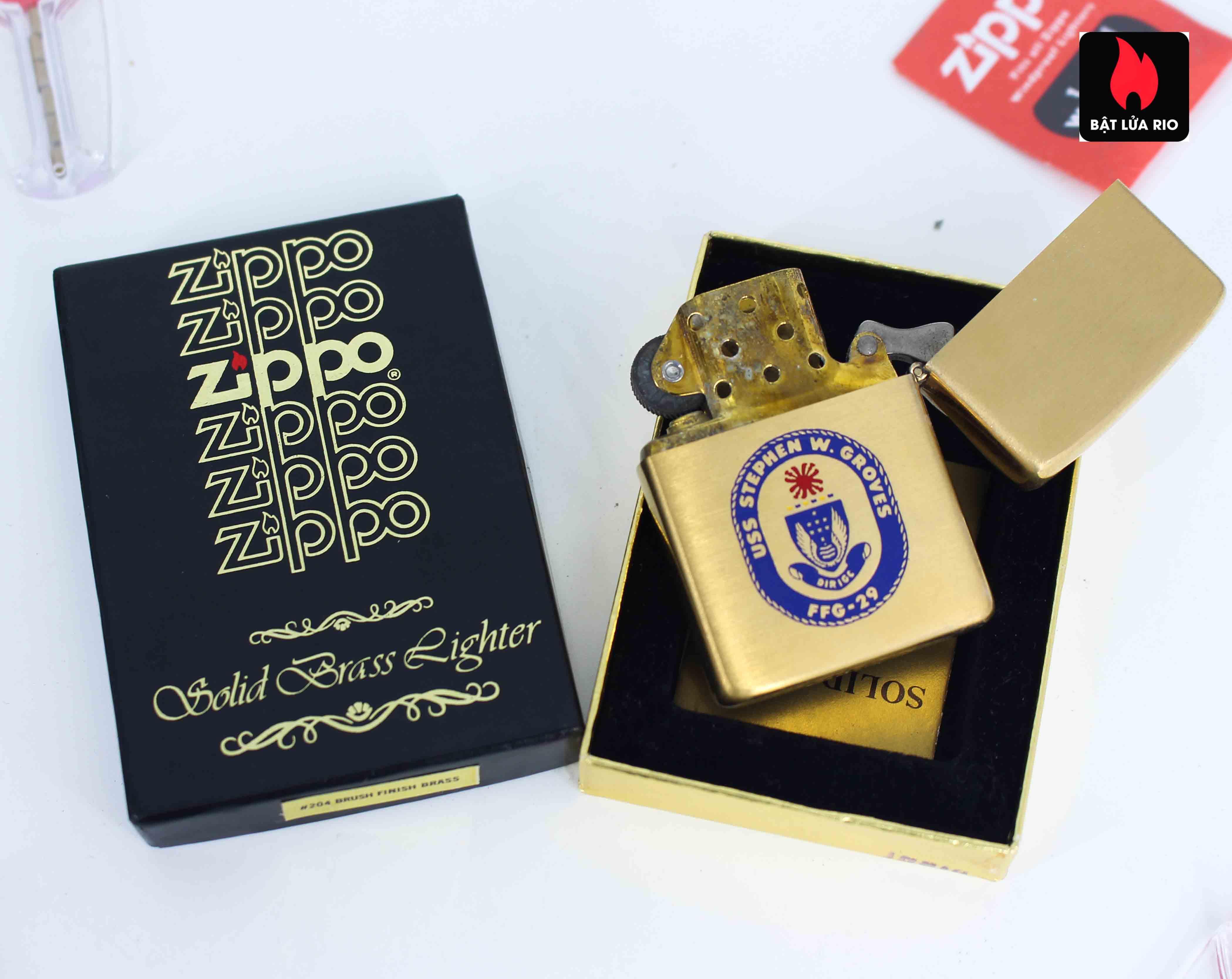 Zippo Chu Niên 1932 - 1983 - Uss Stephen W.Groves FFG 29 3