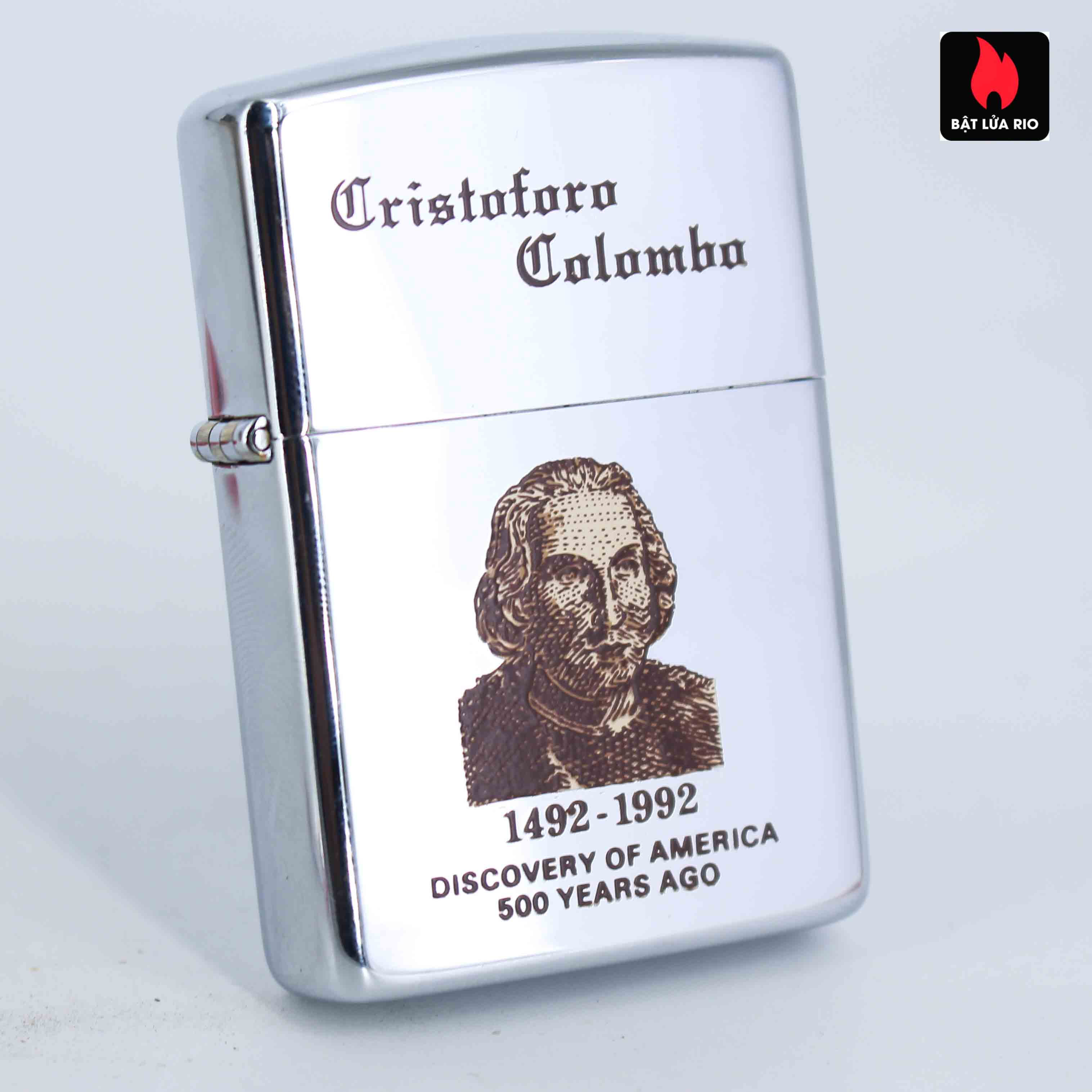 Zippo La Mã 1991 - Cristoforo Colombo 1492-1992