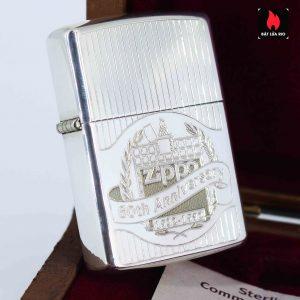 Zippo La Mã 1991 - Sterling Silver - 60th Anniversary Limited Edition