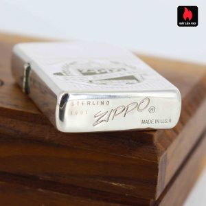 Zippo La Mã 1991 - Sterling Silver - 60th Anniversary Limited Edition 9