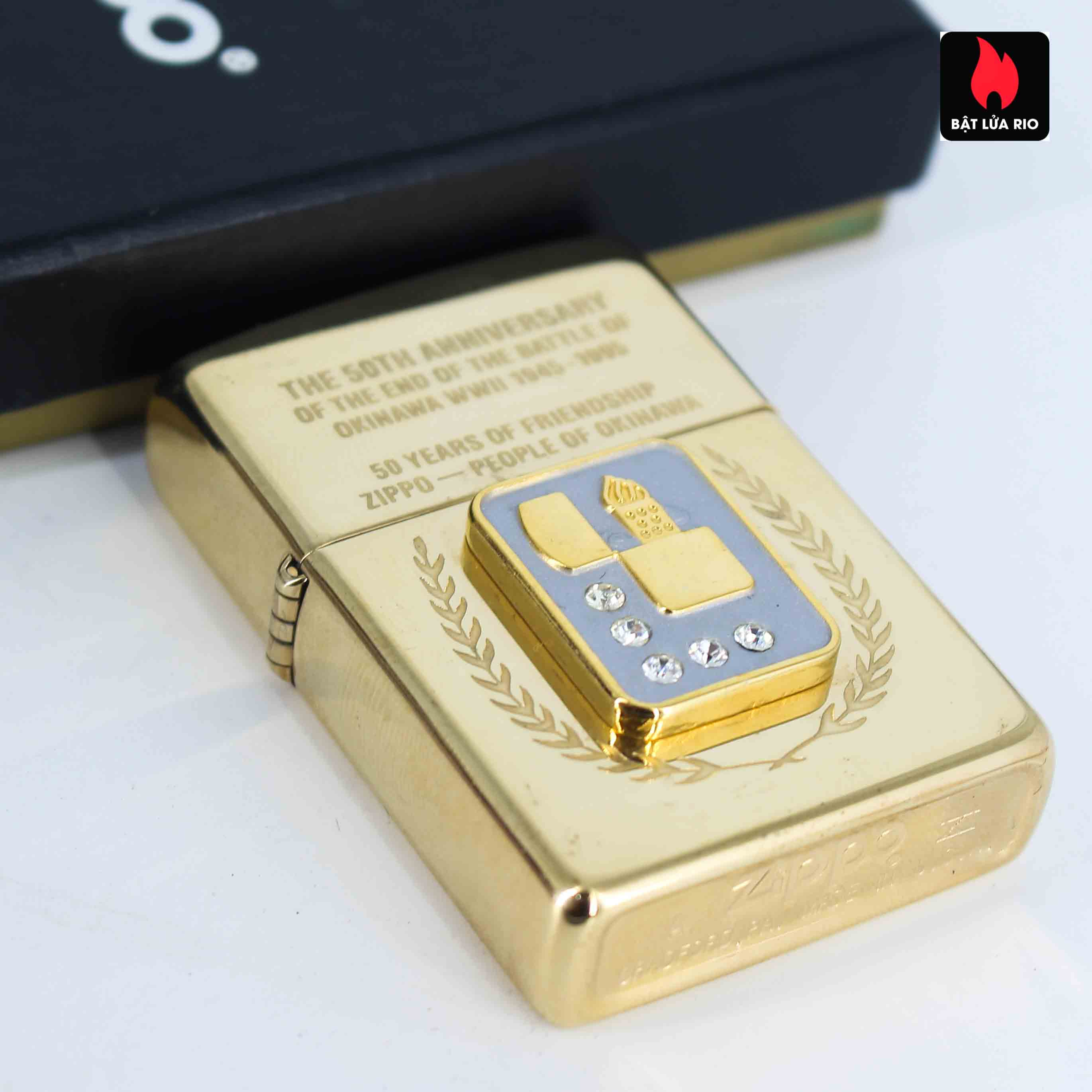 Zippo La Mã 1995 - 50th Anniversary Of The And Of The Battle Of Okinawa WWII 1945-1995 7