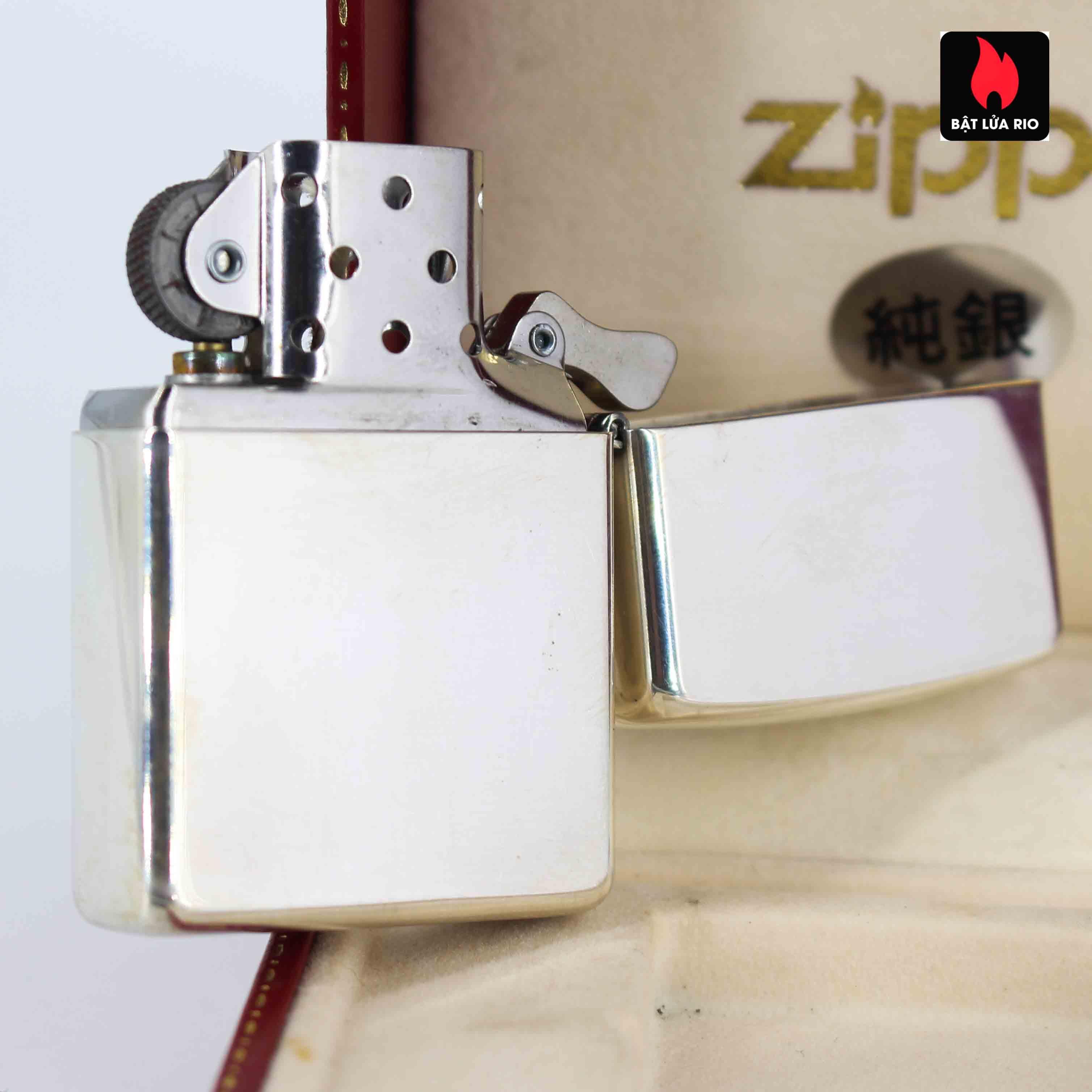 Zippo La Mã 1996 - Sterling Silver - 65th Anniversary 3