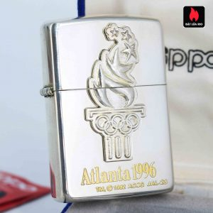 Zippo La Mã 1996 - Sterling Silver - Atlanta 1996