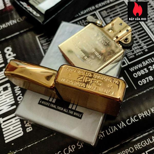 Zippo Replica Brass 1941B Khắc Tướng MacArthur - Zippo 1941B.MACARTHUR 8