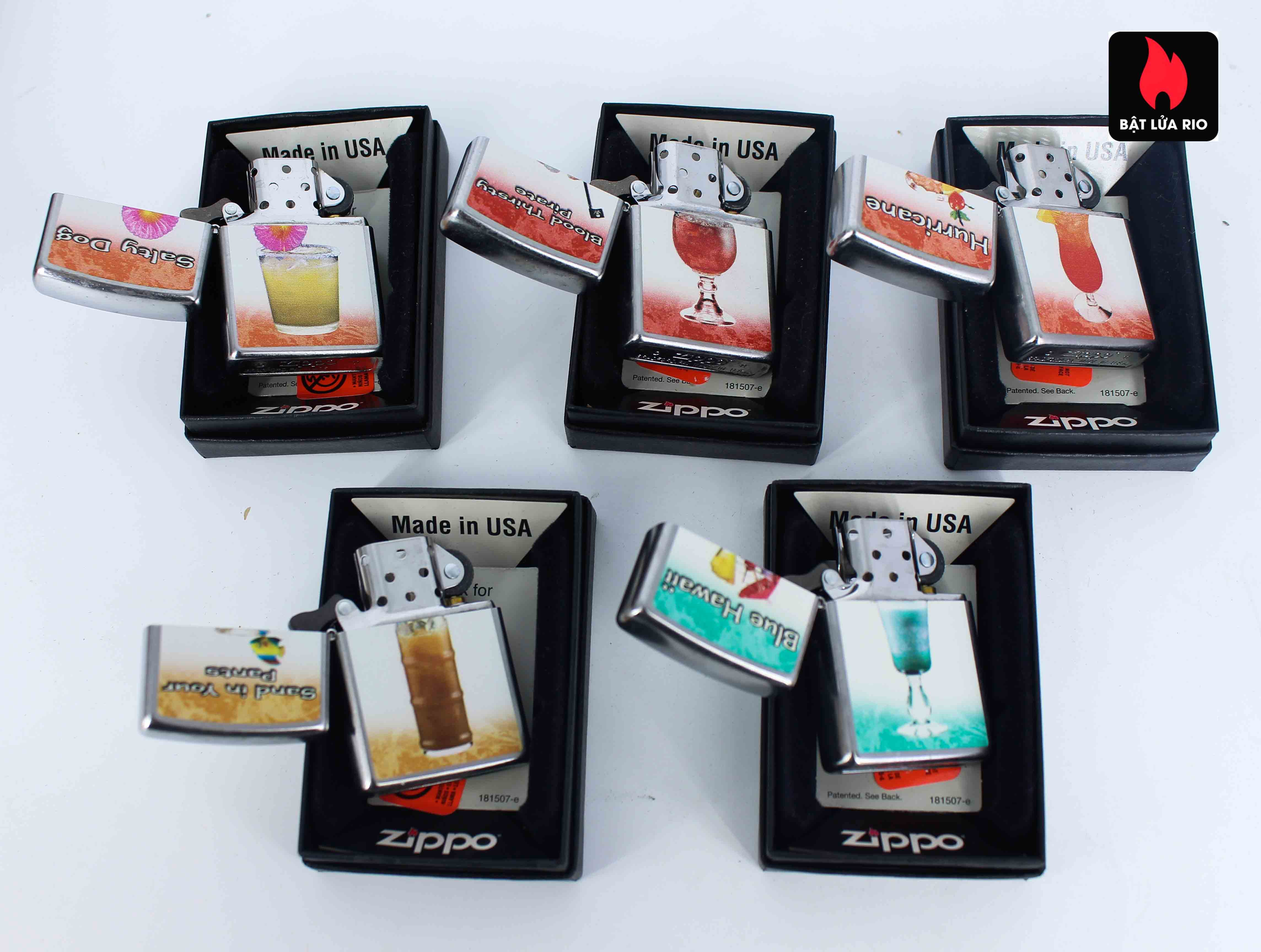 Zippo Serries 2011 - Mixed Drink 1