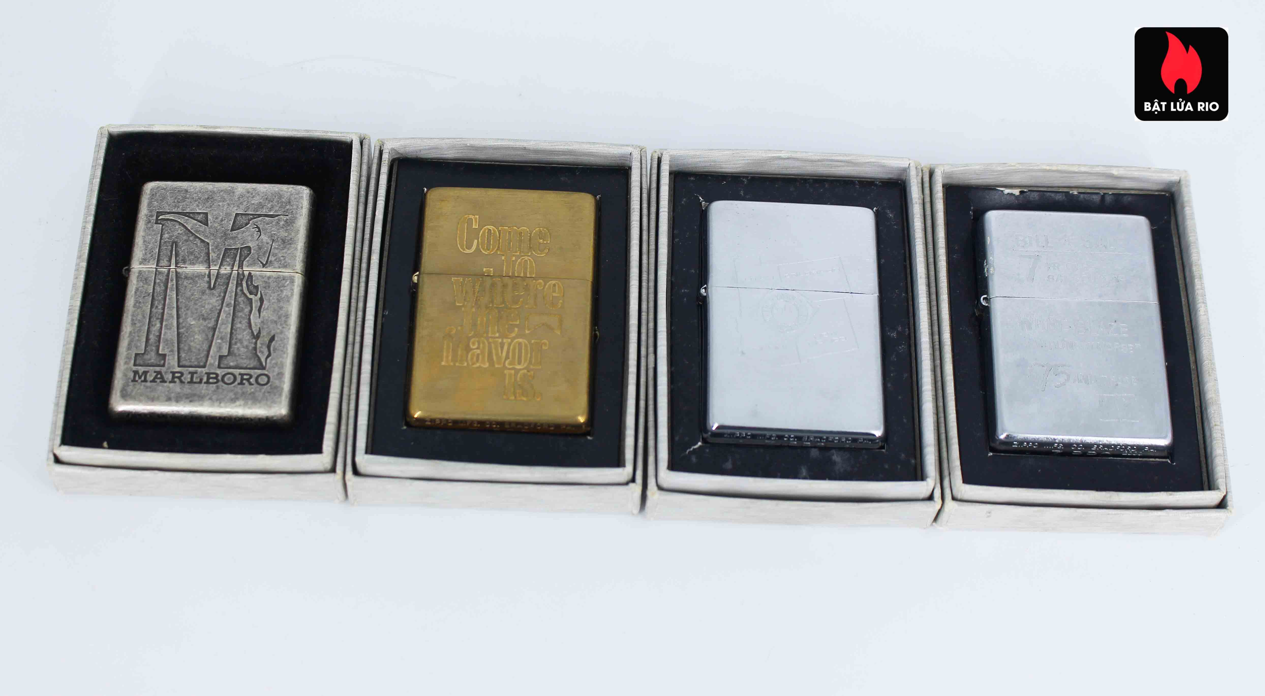 Zippo Set - Zippo 2000-2001 - Marlboro collection Limited Edition 1