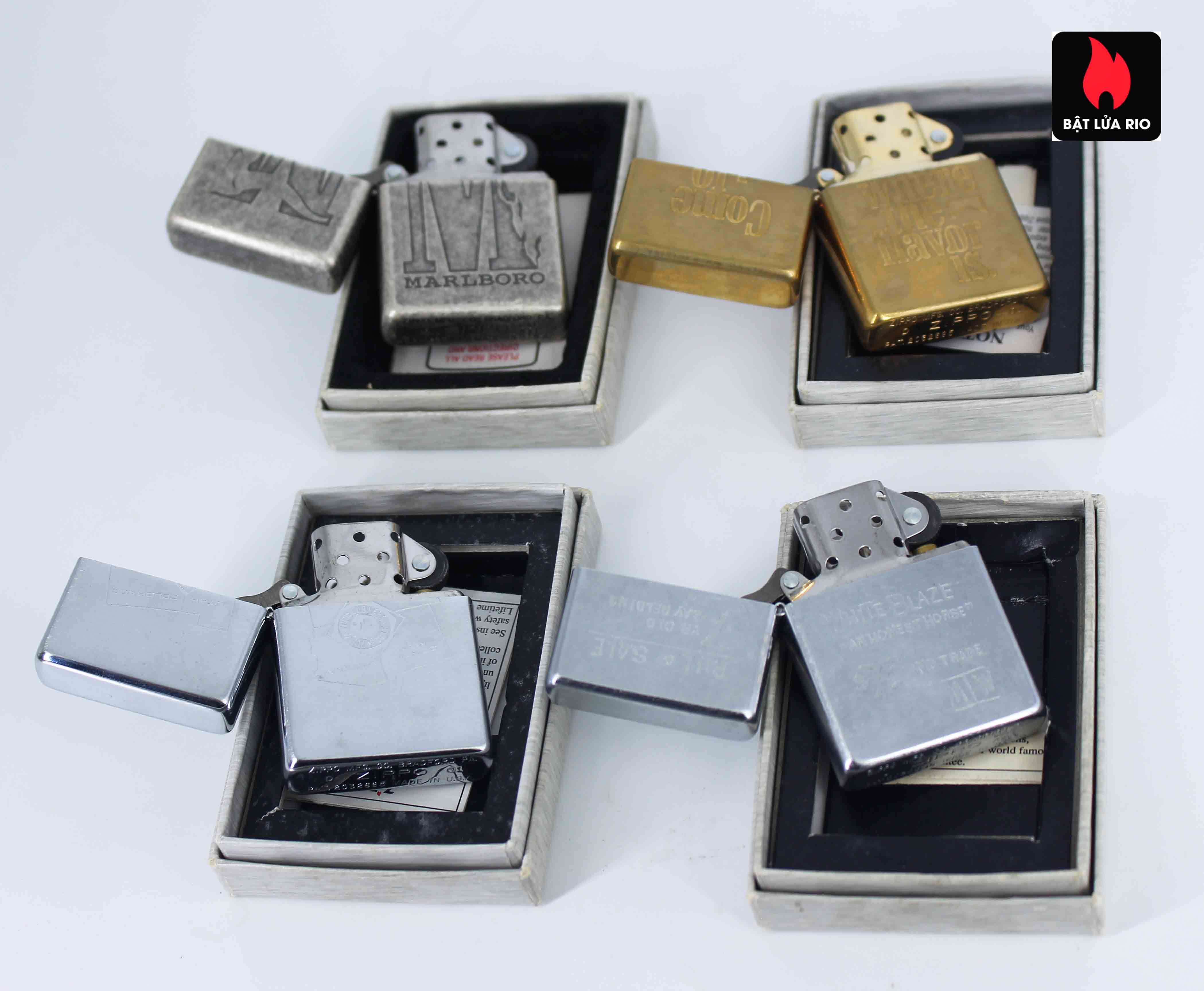 Zippo Set - Zippo 2000-2001 - Marlboro collection Limited Edition 2
