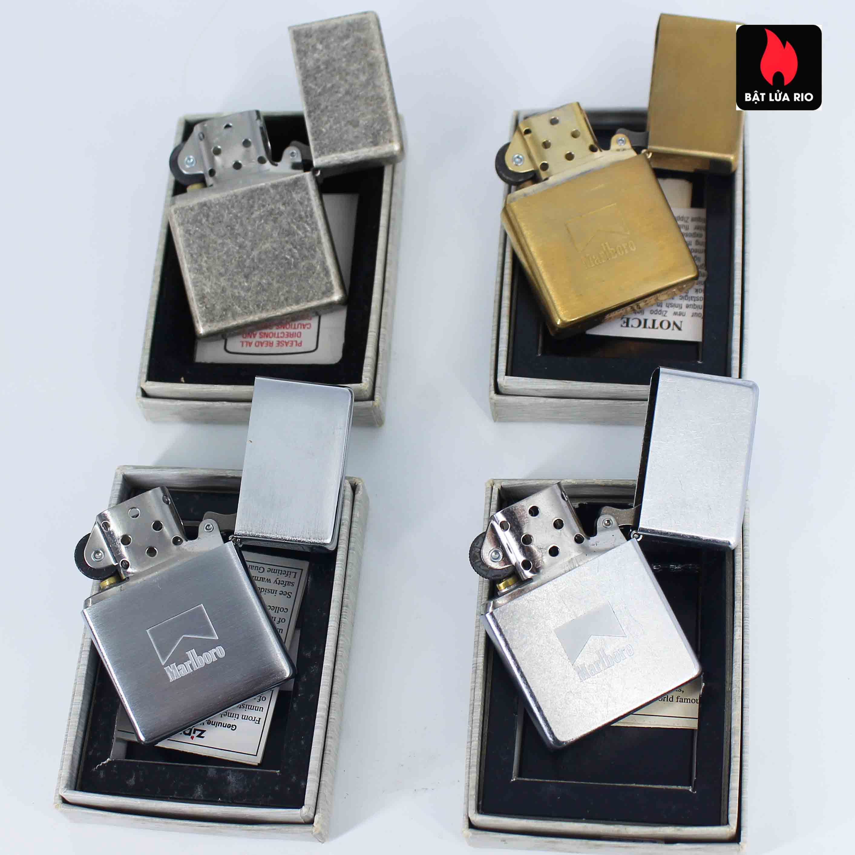 Zippo Set - Zippo 2000-2001 - Marlboro collection Limited Edition 3