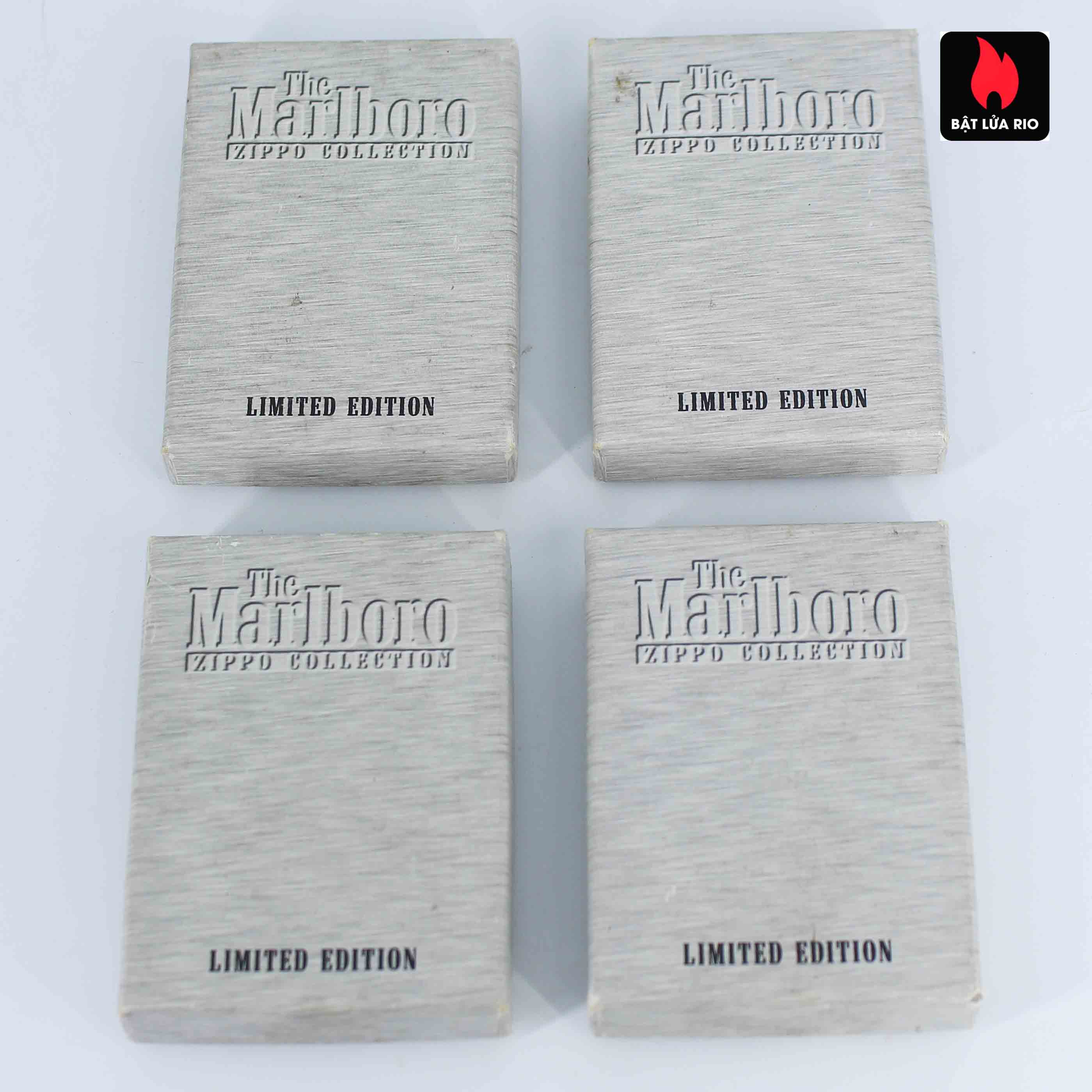 Zippo Set - Zippo 2000-2001 - Marlboro collection Limited Edition 4