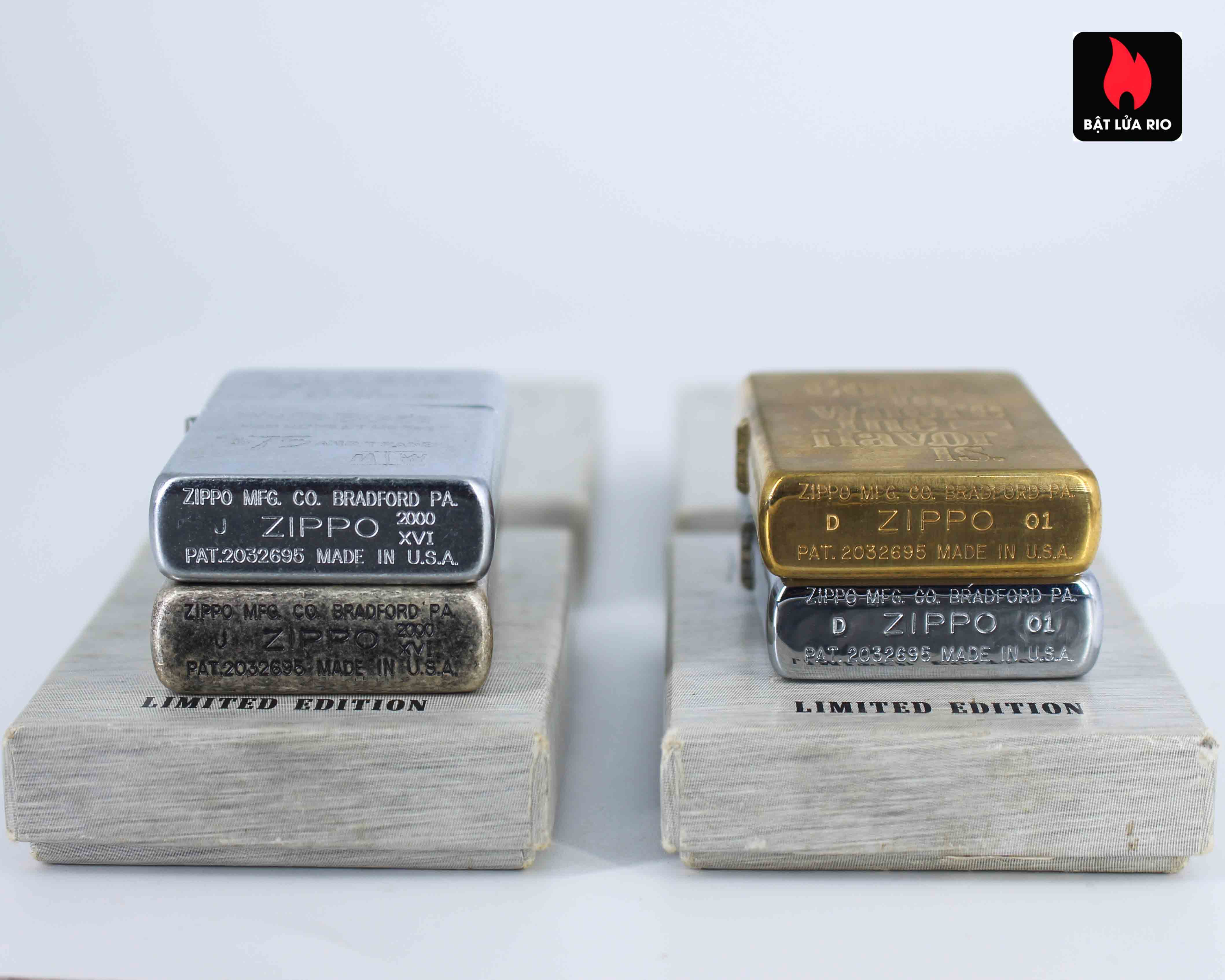 Zippo Set - Zippo 2000-2001 - Marlboro collection Limited Edition 5