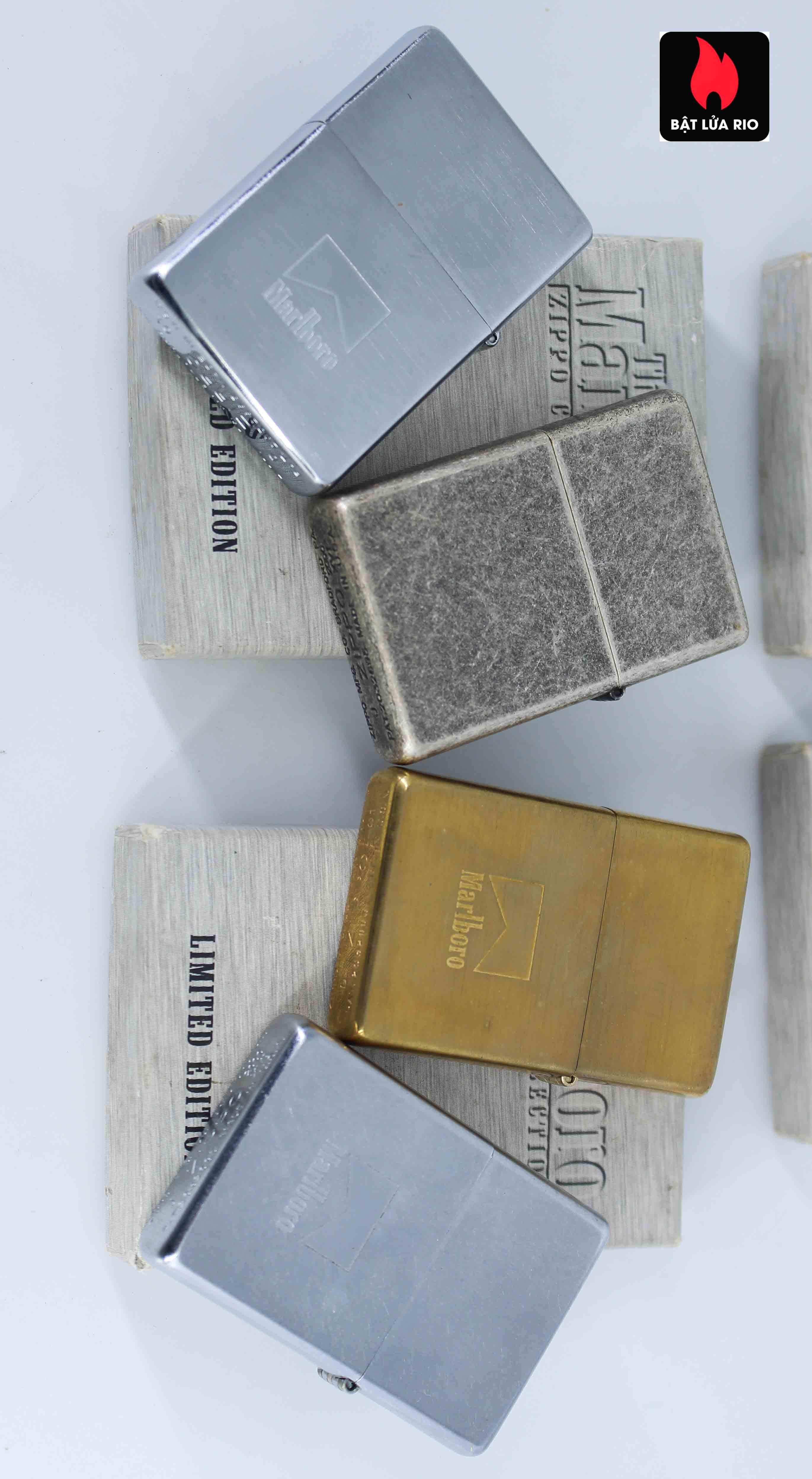Zippo Set - Zippo 2000-2001 - Marlboro collection Limited Edition 8