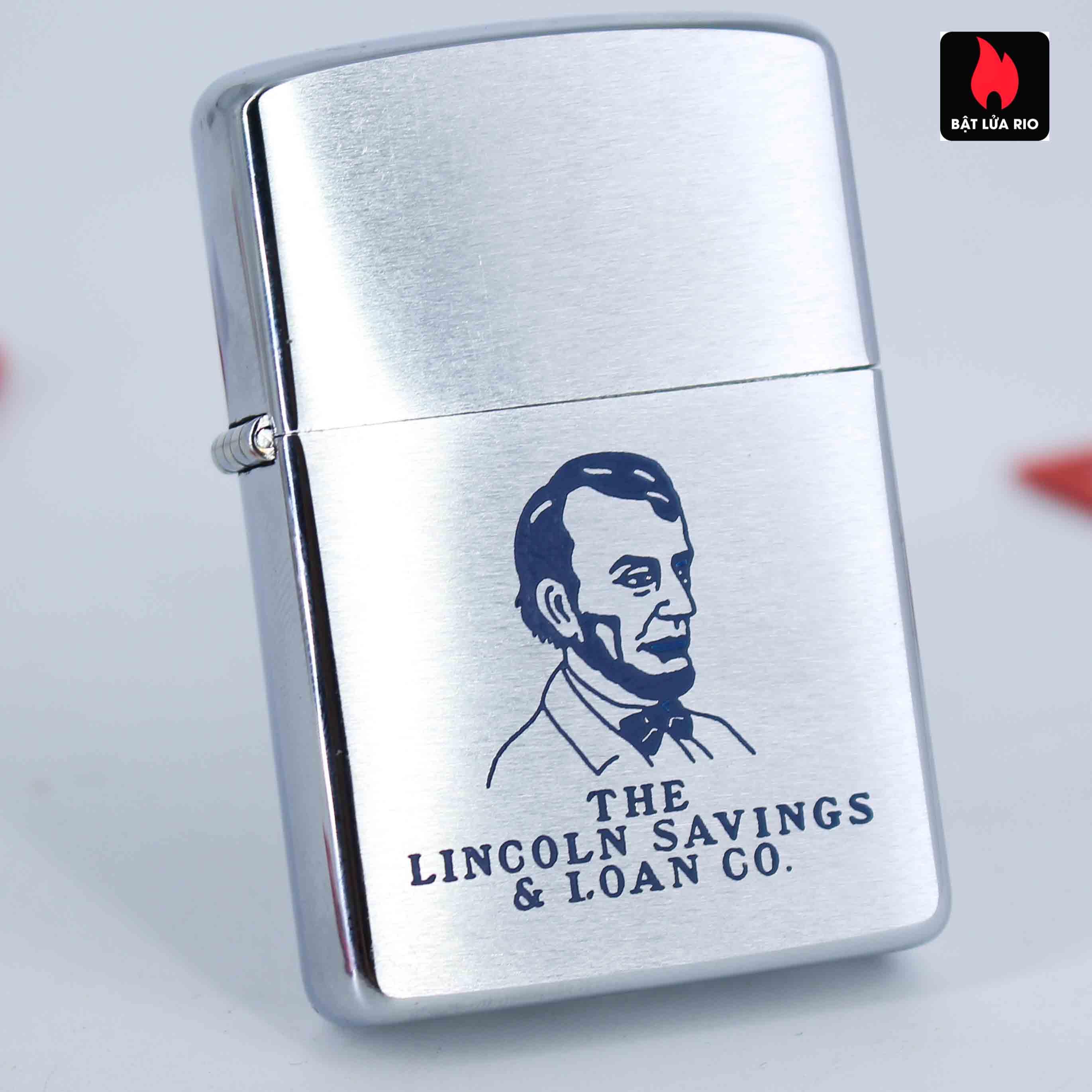 Zippo Xưa 1958 - Lincoln Sayvings & Loan Co