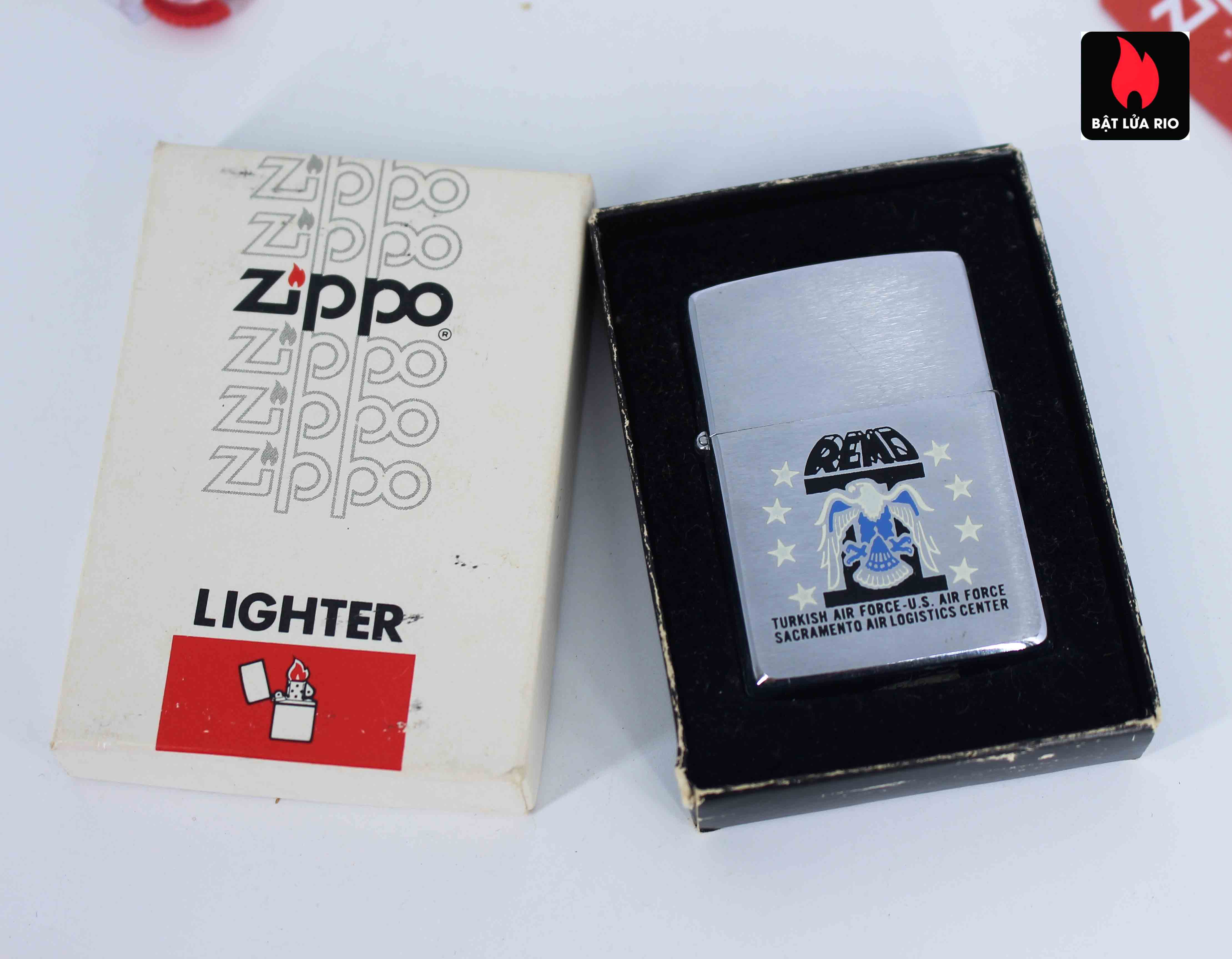 Zippo Xưa 1982 - Turkich Air Force 2