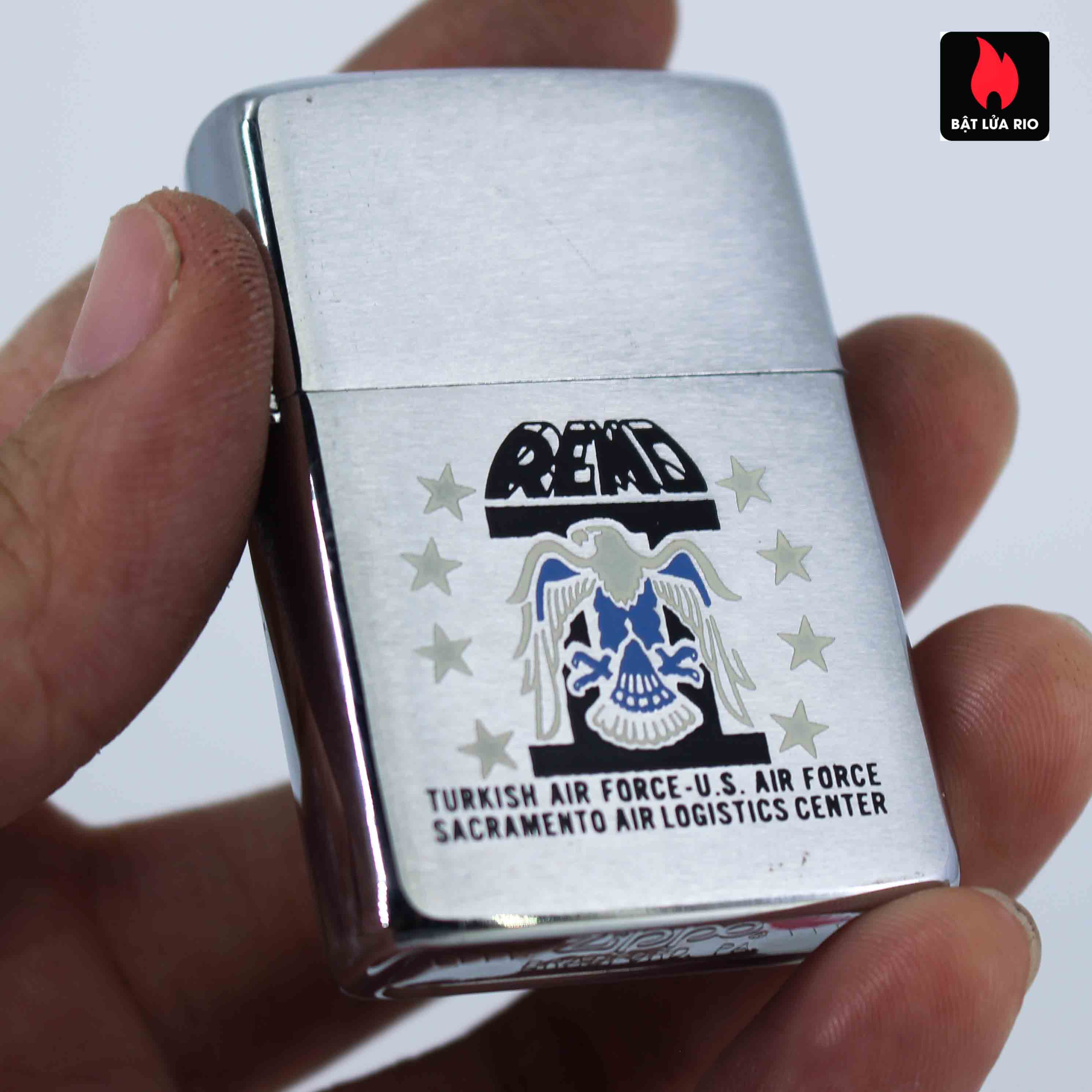 Zippo Xưa 1982 - Turkich Air Force 5