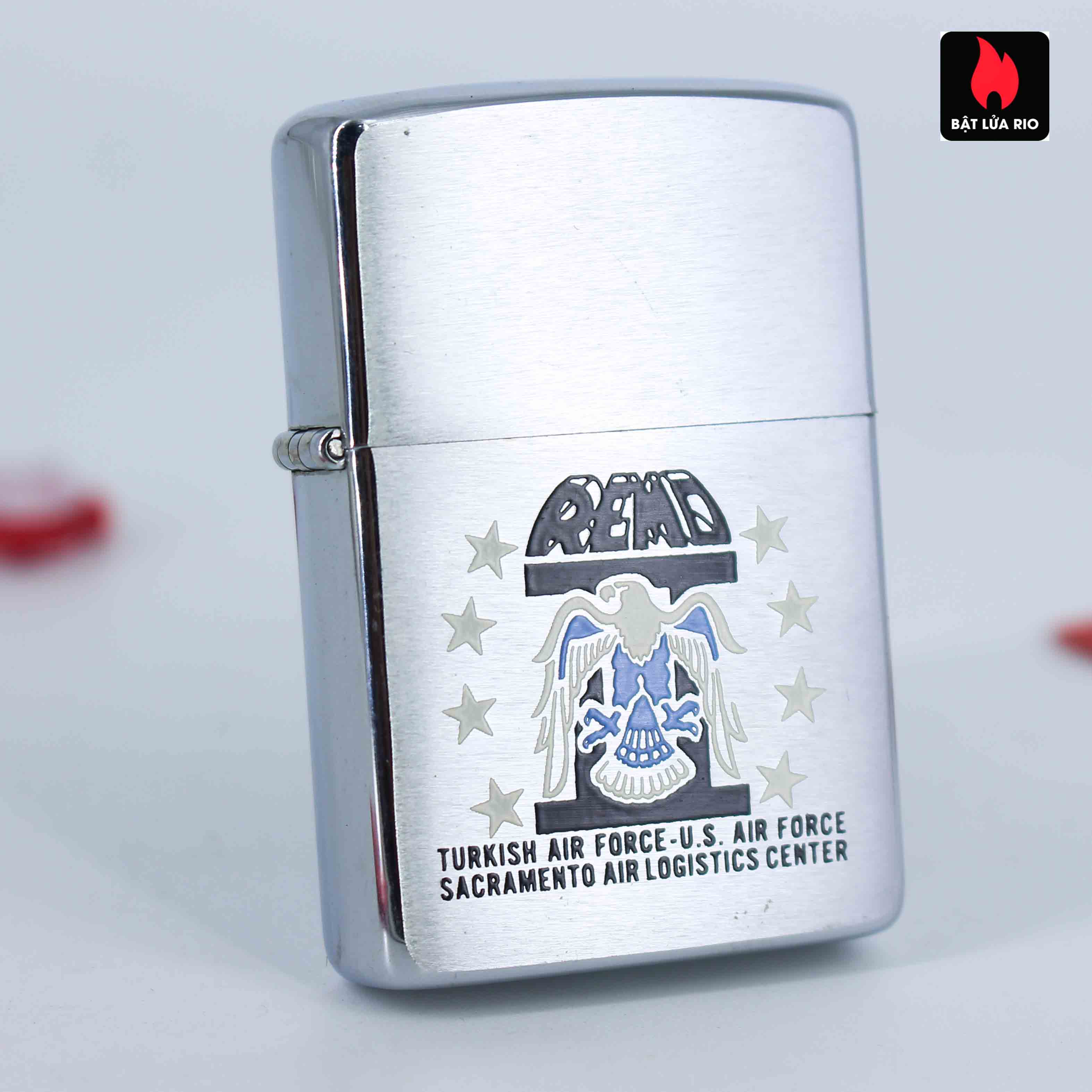 Zippo Xưa 1982 - Turkich Air Force